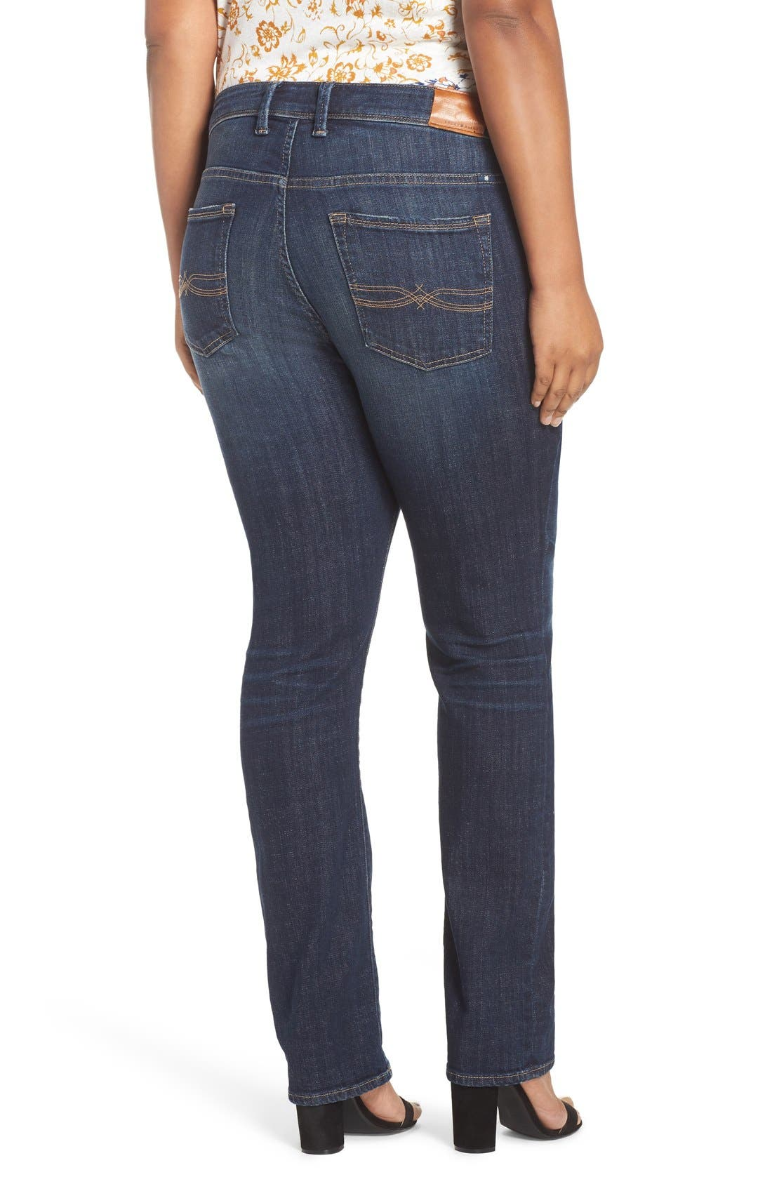 'Reese' Ripped Boyfriend Jeans,                             Alternate thumbnail 4, color,                             410