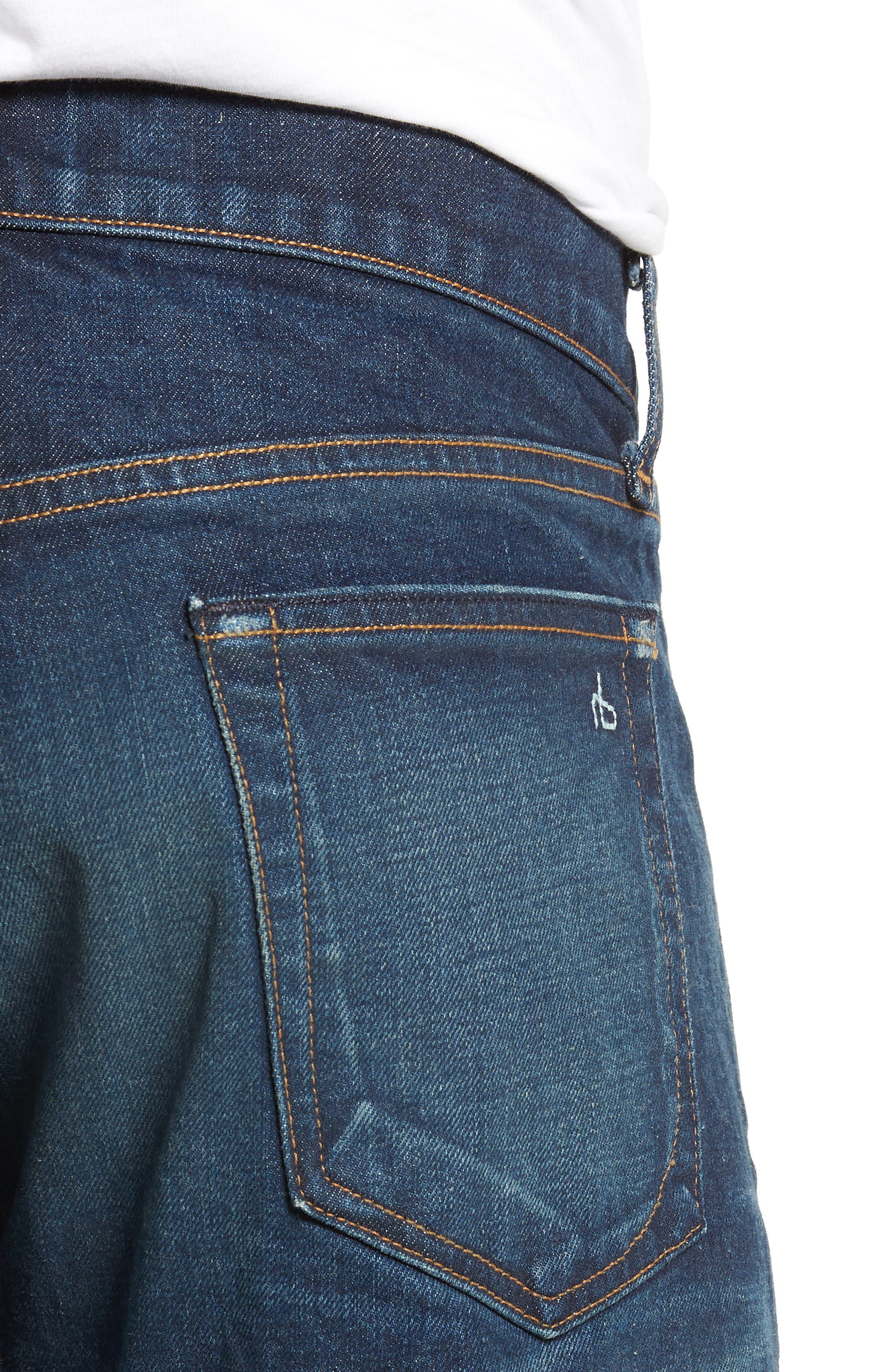 Fit 2 Slim Fit Jeans,                             Alternate thumbnail 4, color,                             WORN ACE