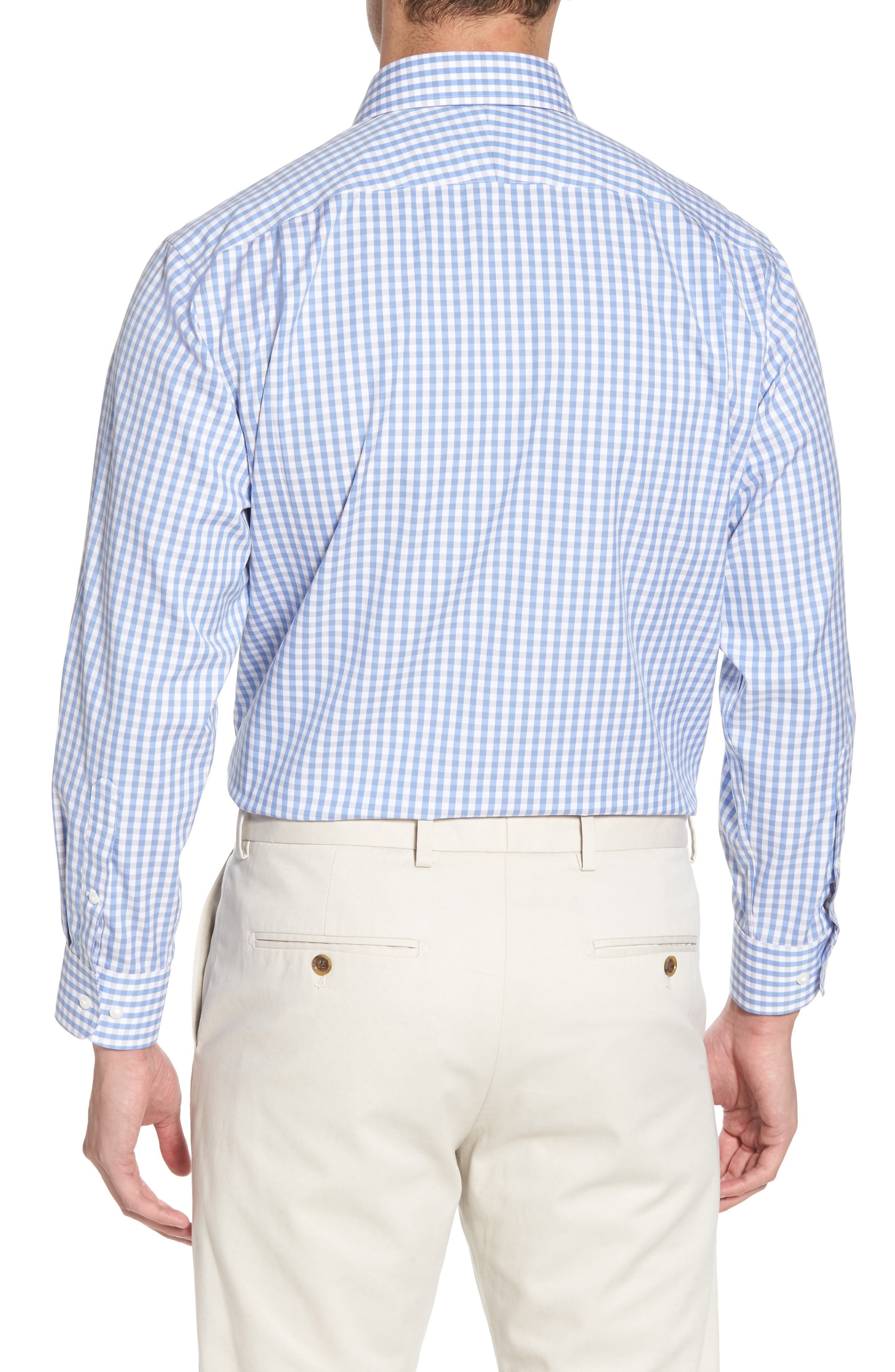 Smartcare<sup>™</sup> Traditional Fit Check Dress Shirt,                             Alternate thumbnail 3, color,                             050