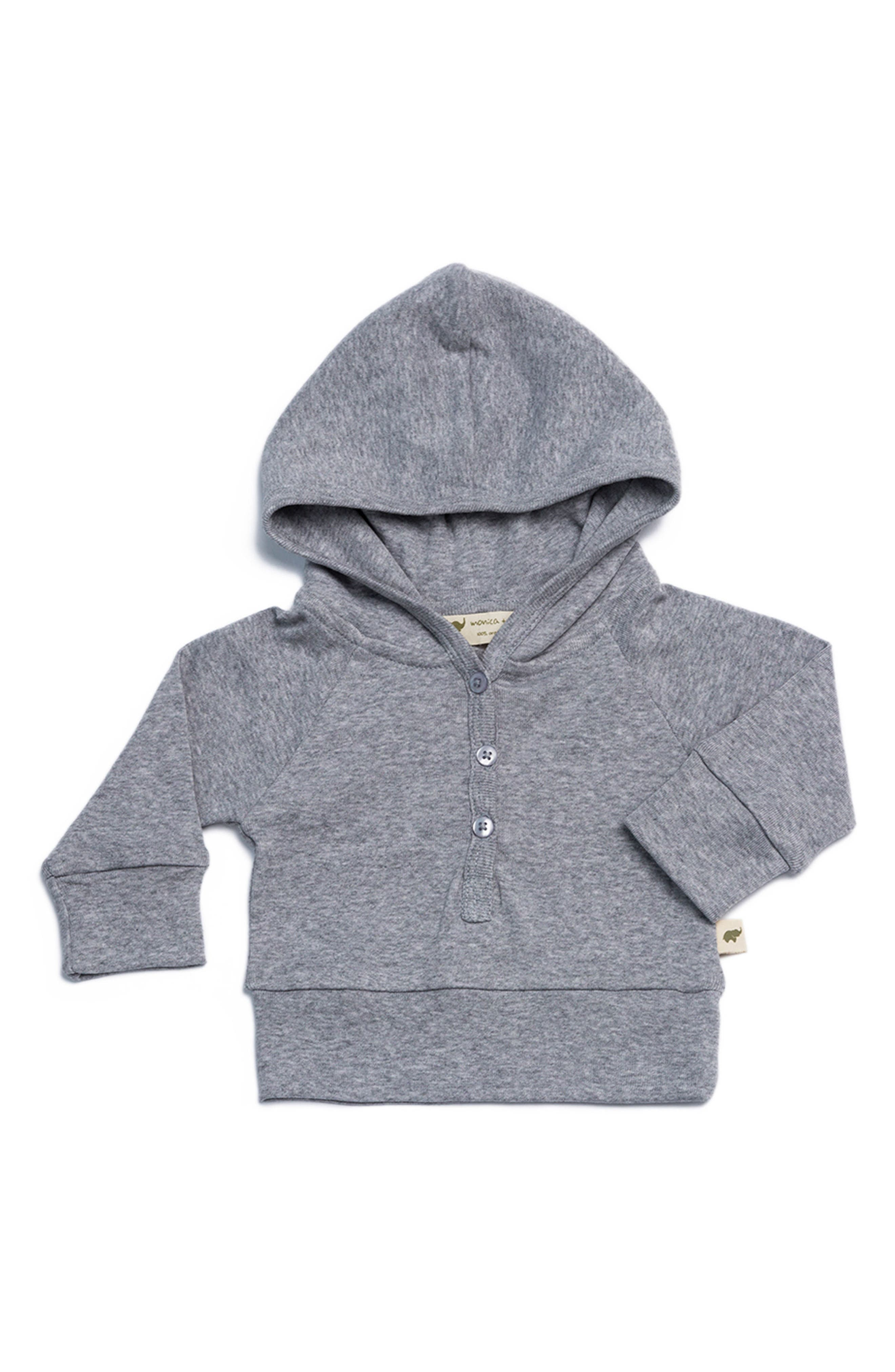 Organic Cotton Hoodie,                             Main thumbnail 1, color,