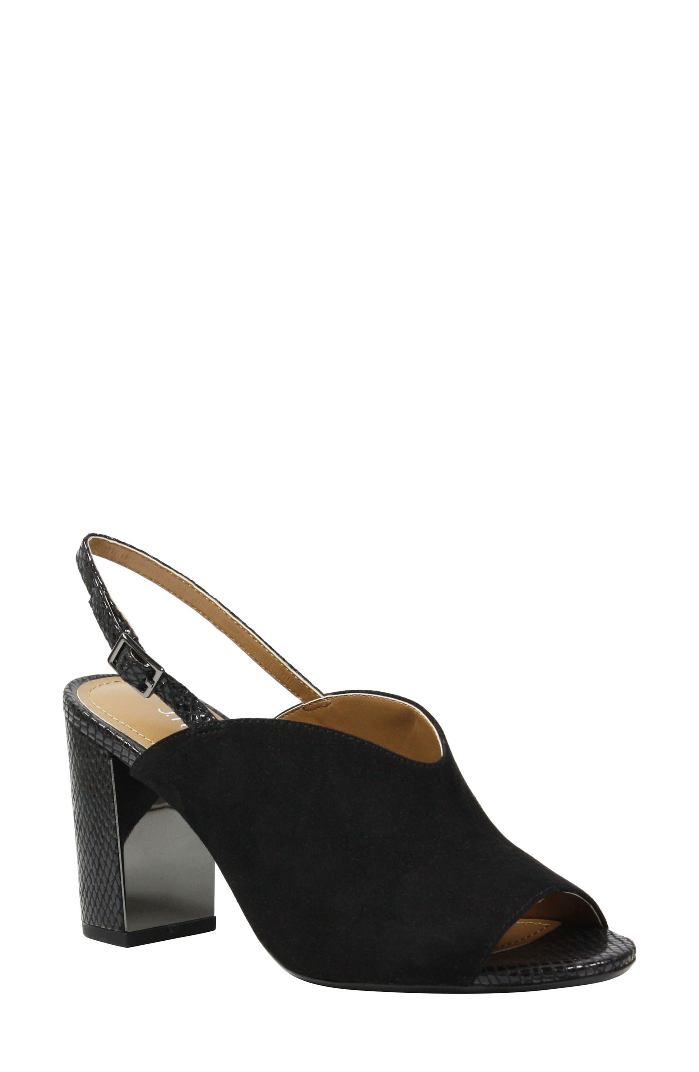 Maarya Block Heel Sandal,                             Main thumbnail 1, color,                             001