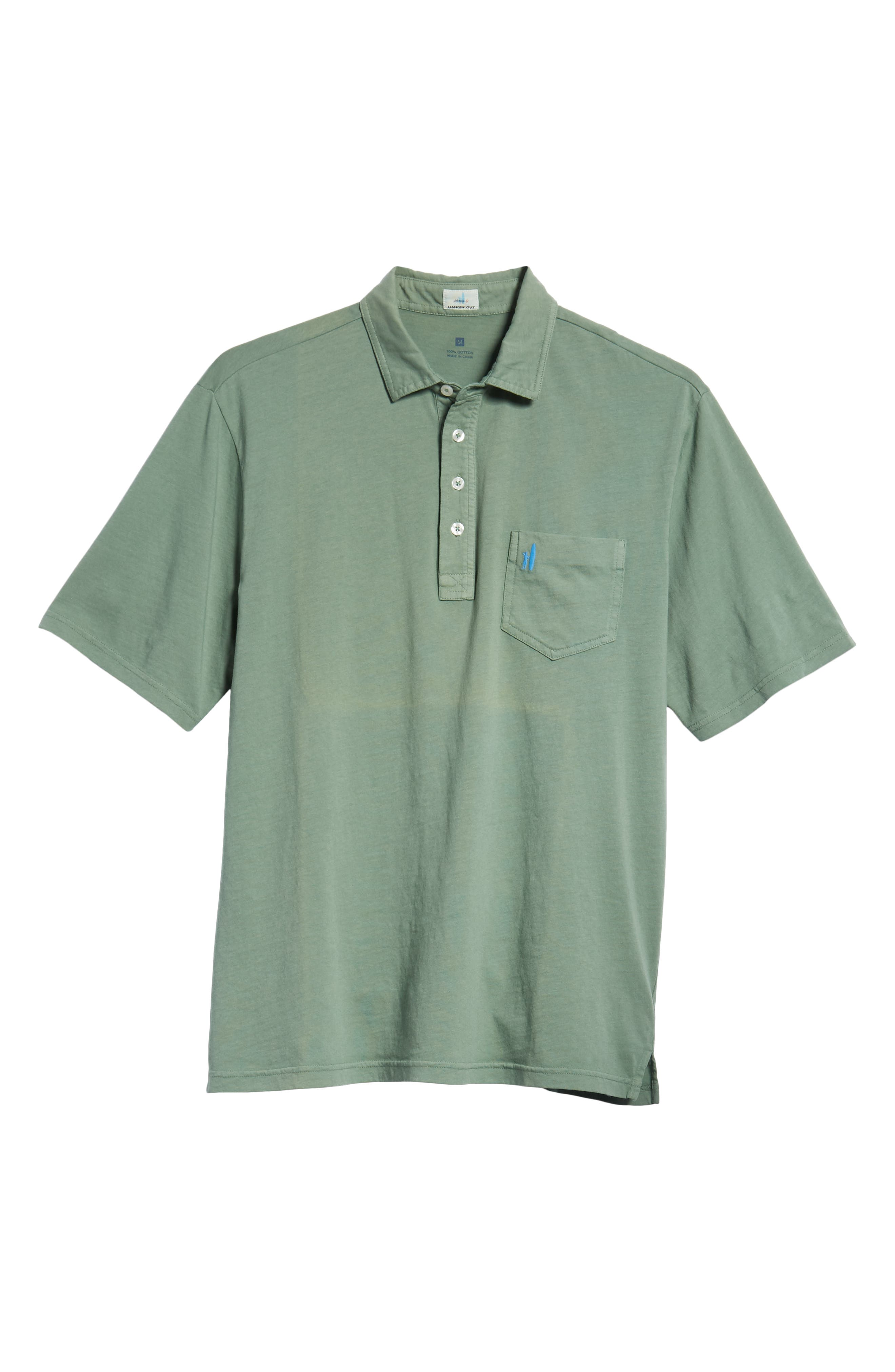 Original Regular Fit Garment Dyed Polo,                             Alternate thumbnail 6, color,                             318