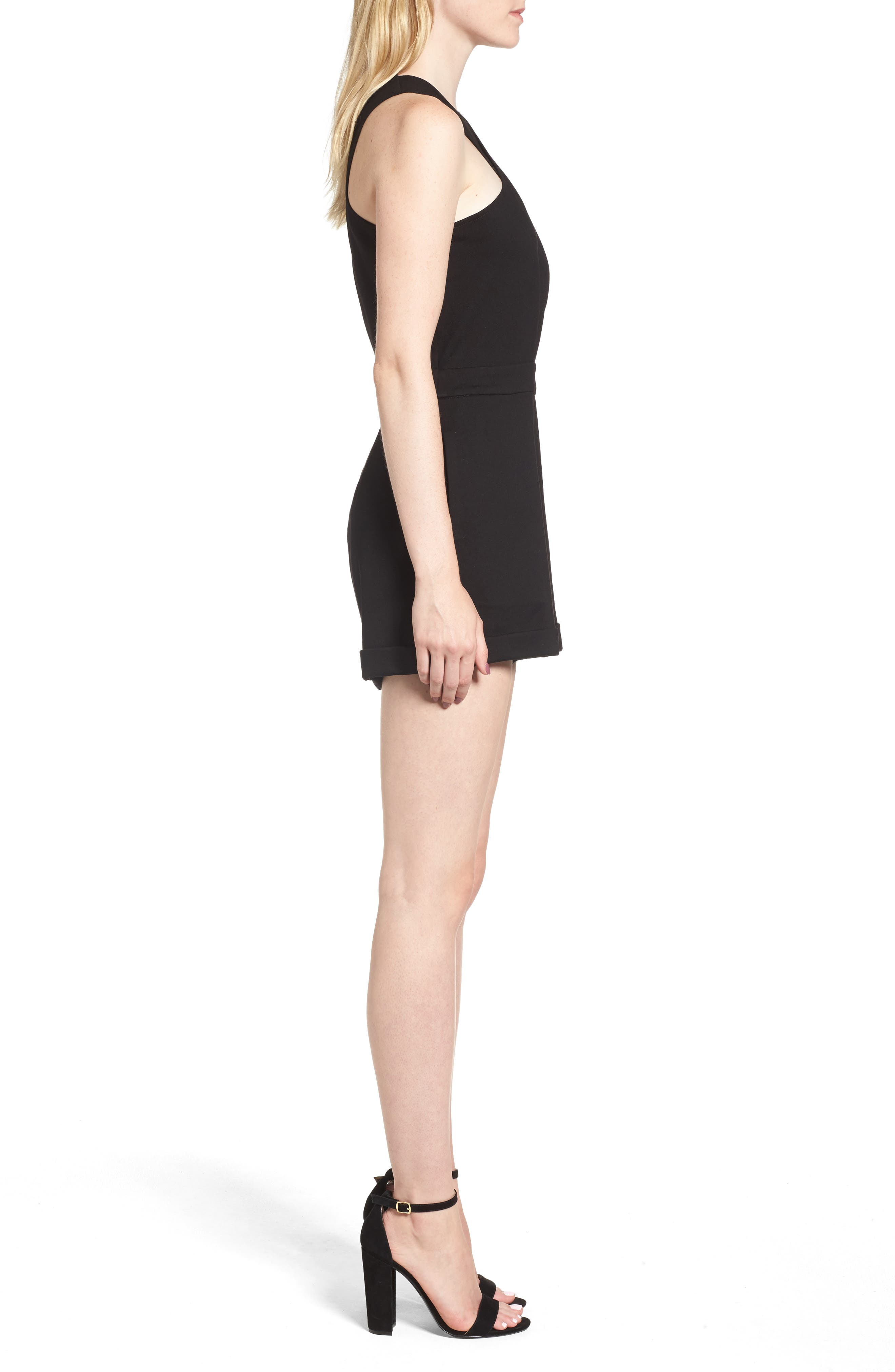 Line & Dont Gabi Romper,                             Alternate thumbnail 3, color,