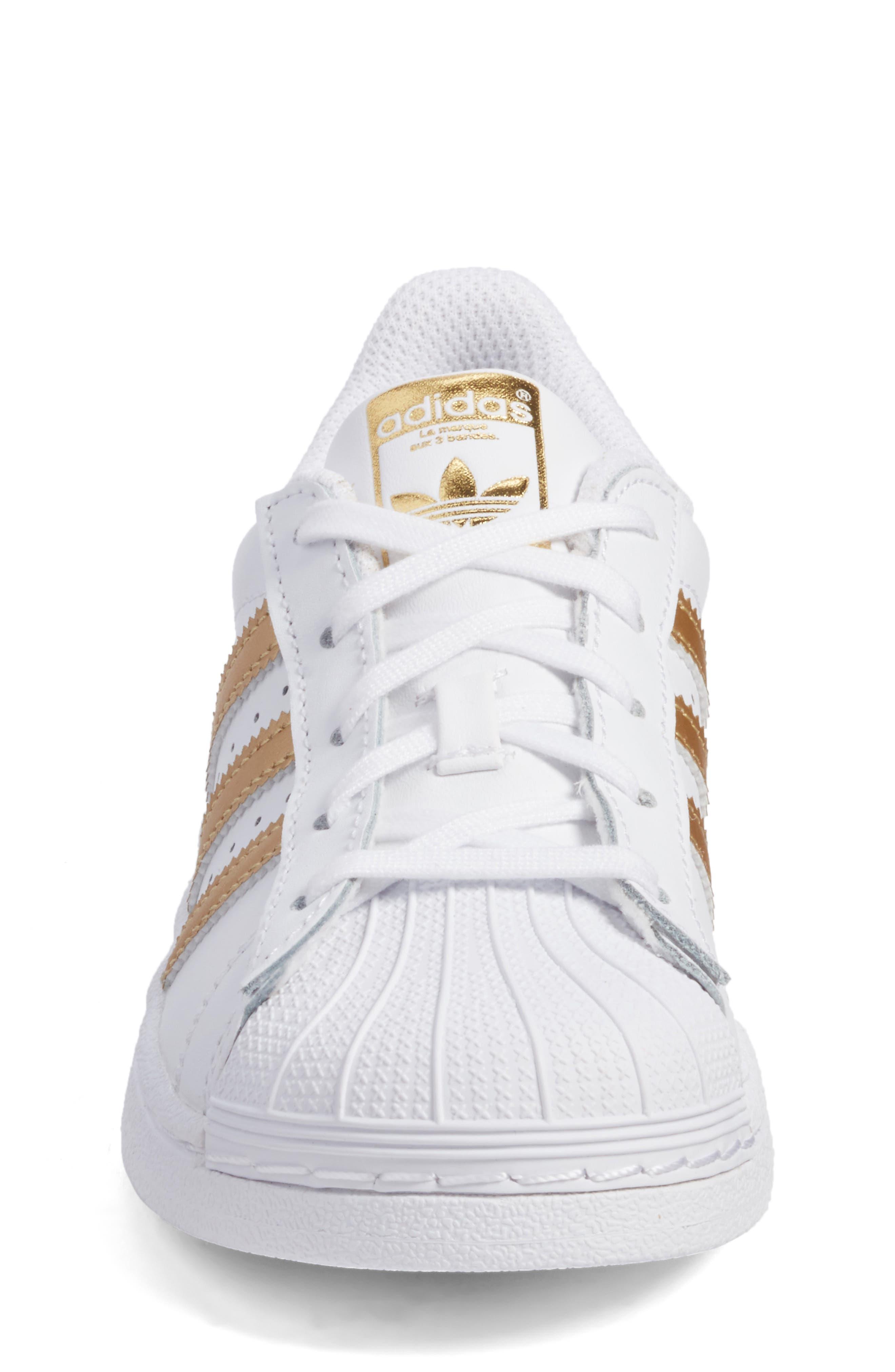 Superstar C Sneaker,                             Alternate thumbnail 4, color,                             100