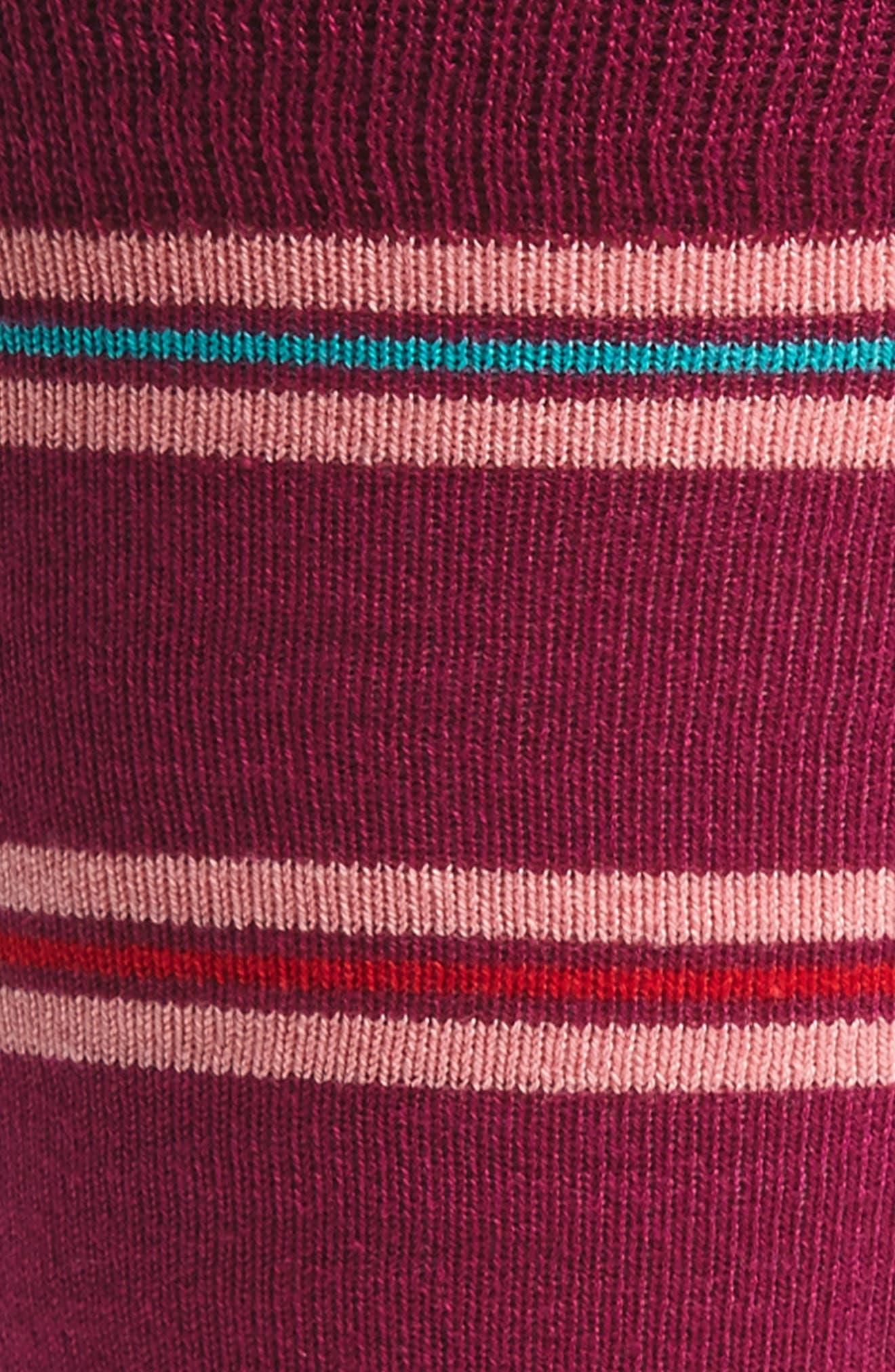 Blanket Stripe Socks,                             Alternate thumbnail 6, color,