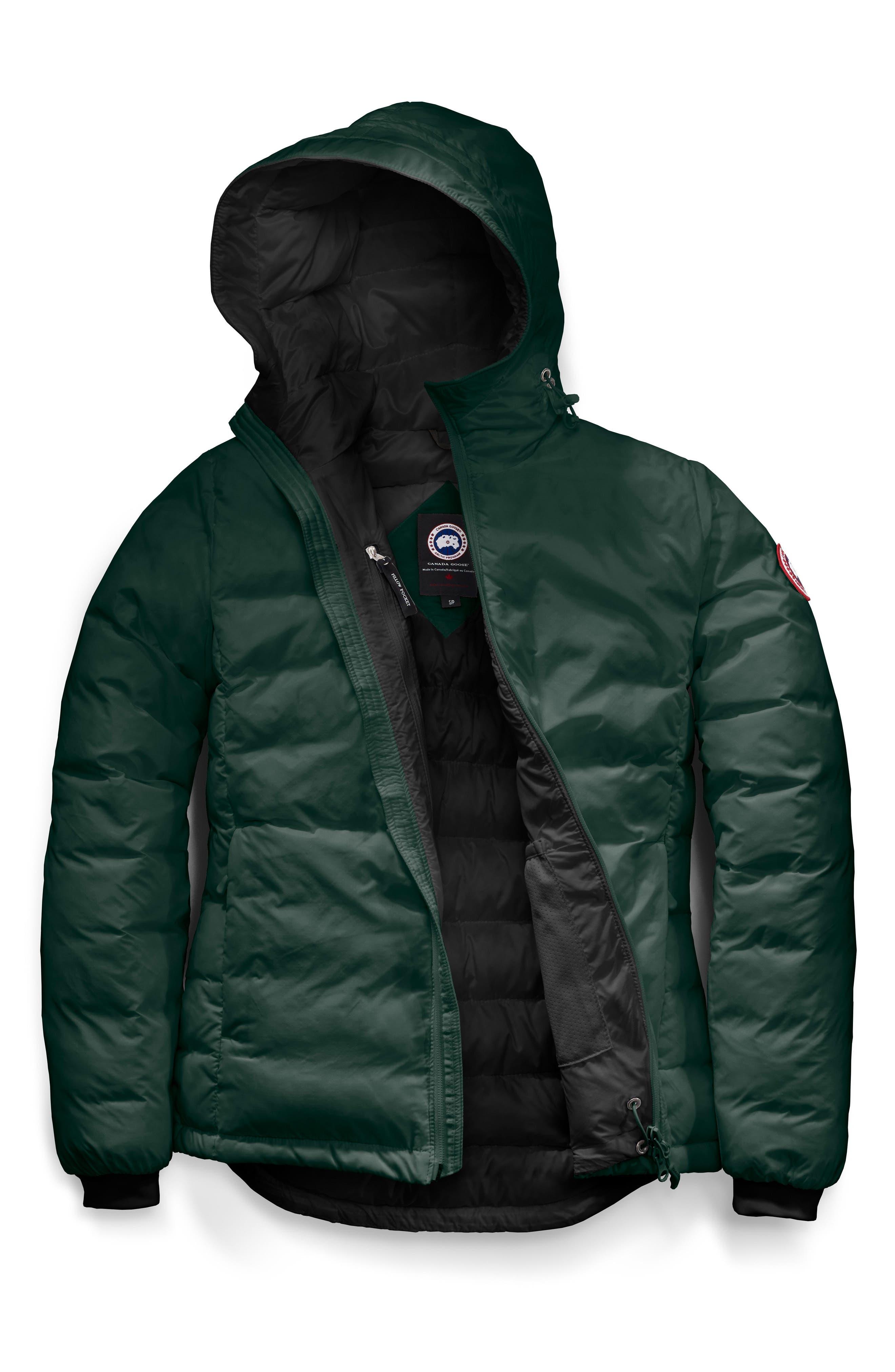 Camp Down Jacket,                             Alternate thumbnail 4, color,                             SPRUCE/ BLACK