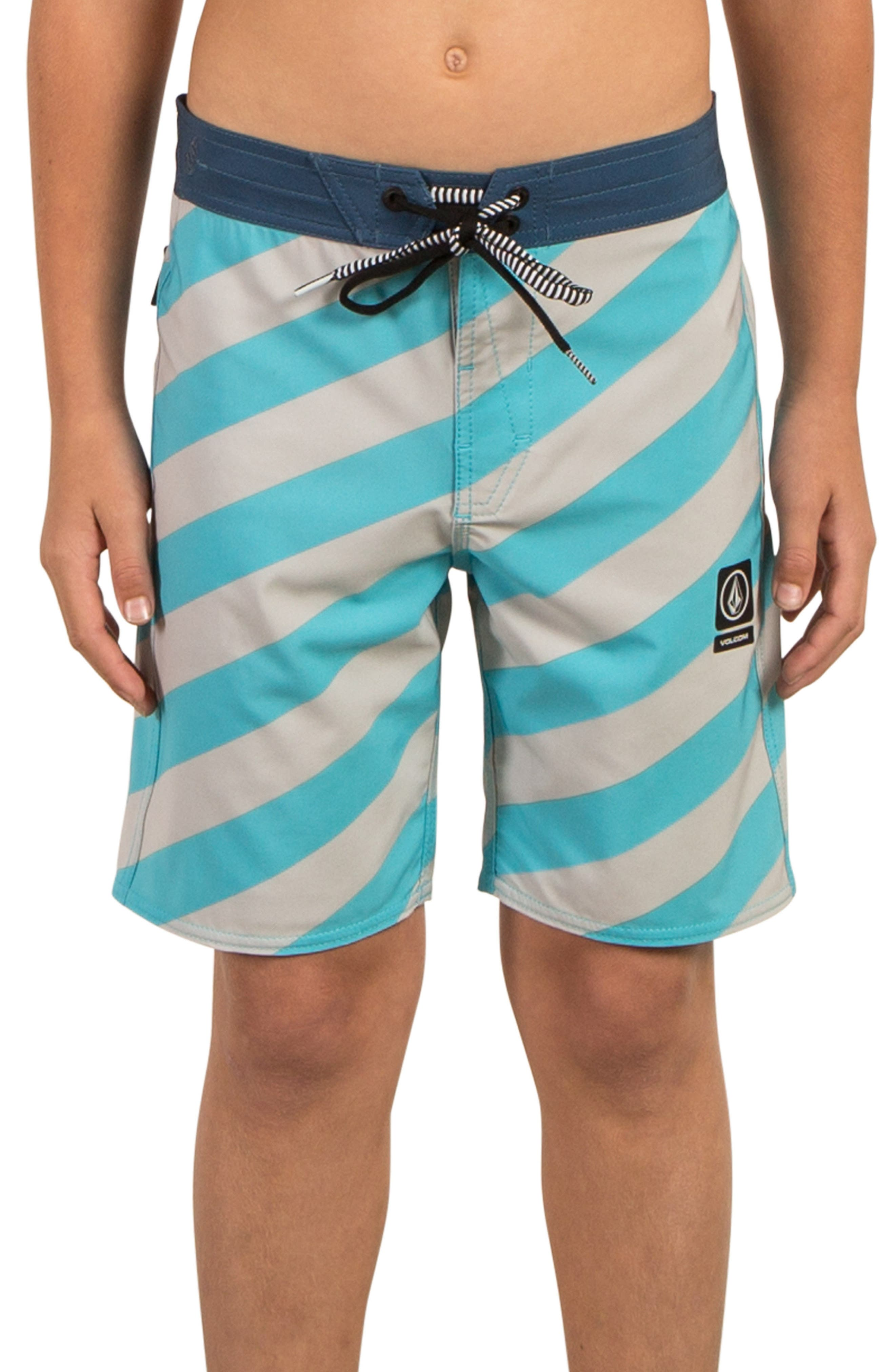 Stripey Jammer Board Shorts,                             Alternate thumbnail 13, color,