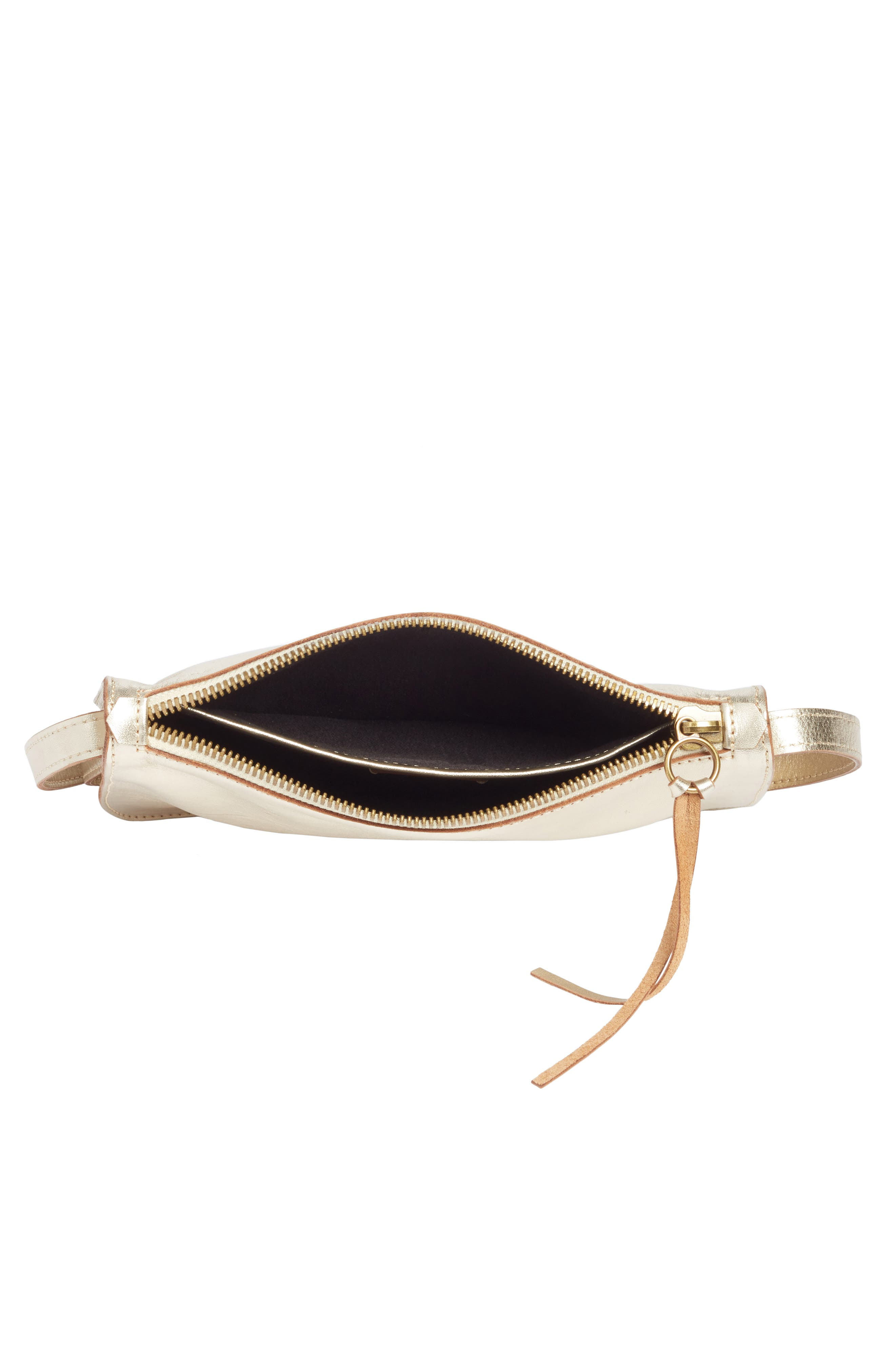 Leather Crossbody Bag,                             Alternate thumbnail 4, color,                             710