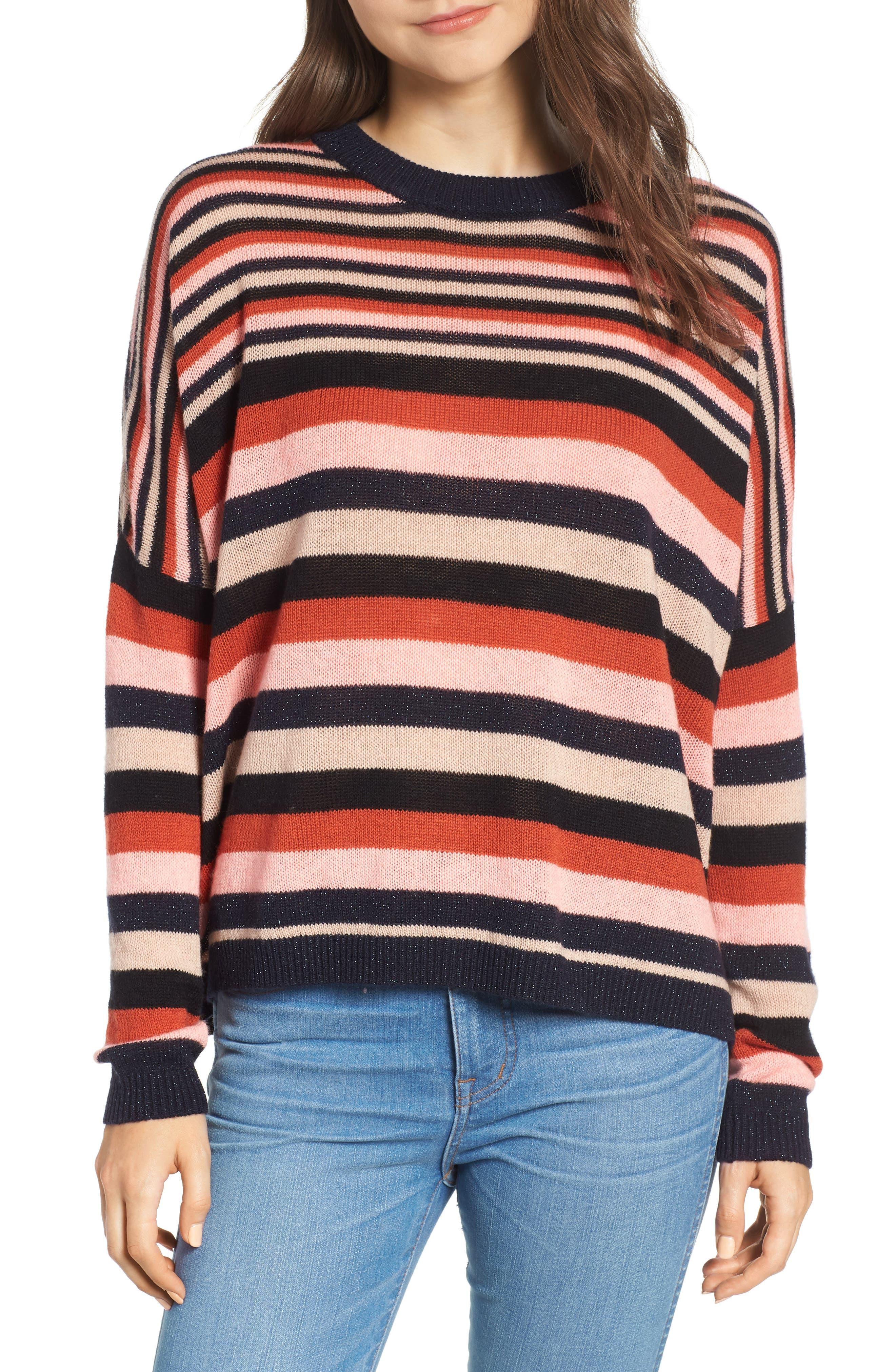 SCOTCH & SODA Stripe Sweater, Main, color, 651