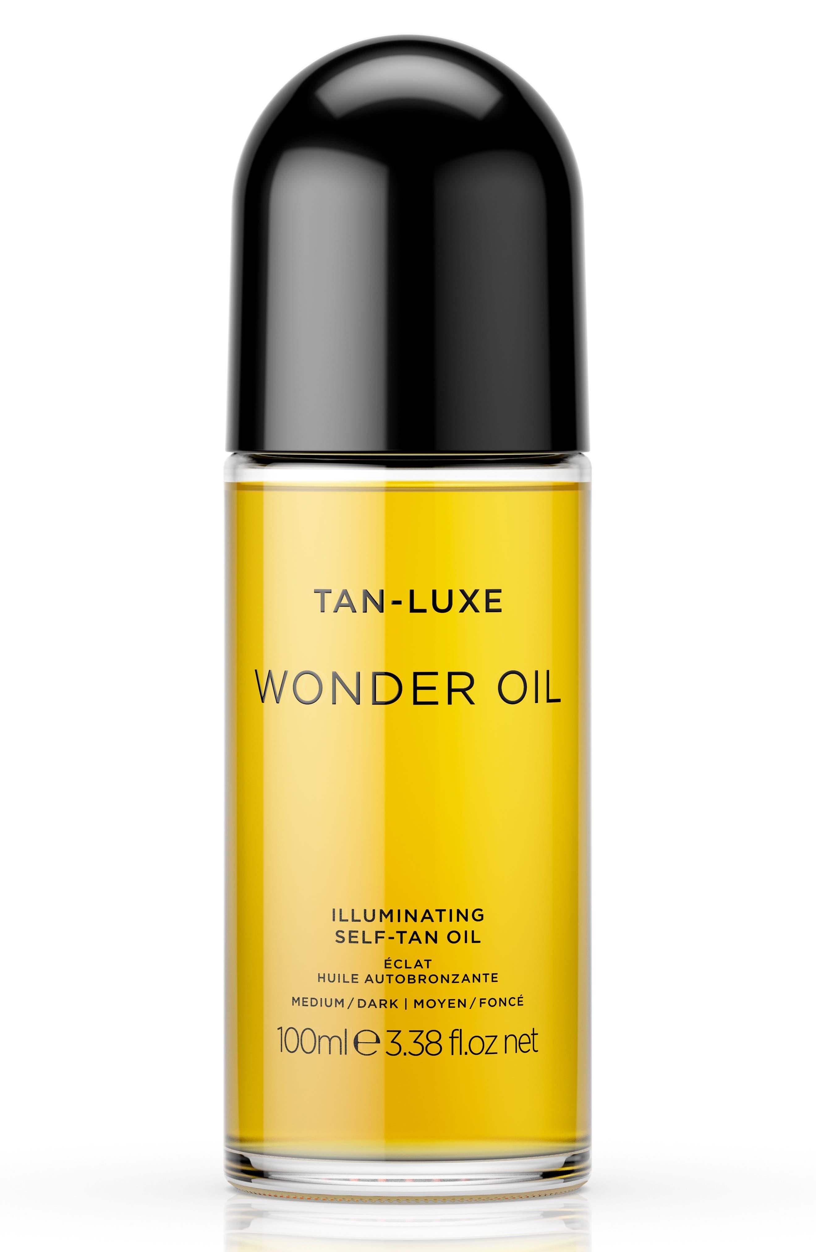 SPACE.NK.apothecary Tan-Luxe Wonder Oil,                             Main thumbnail 1, color,                             MEDIUM