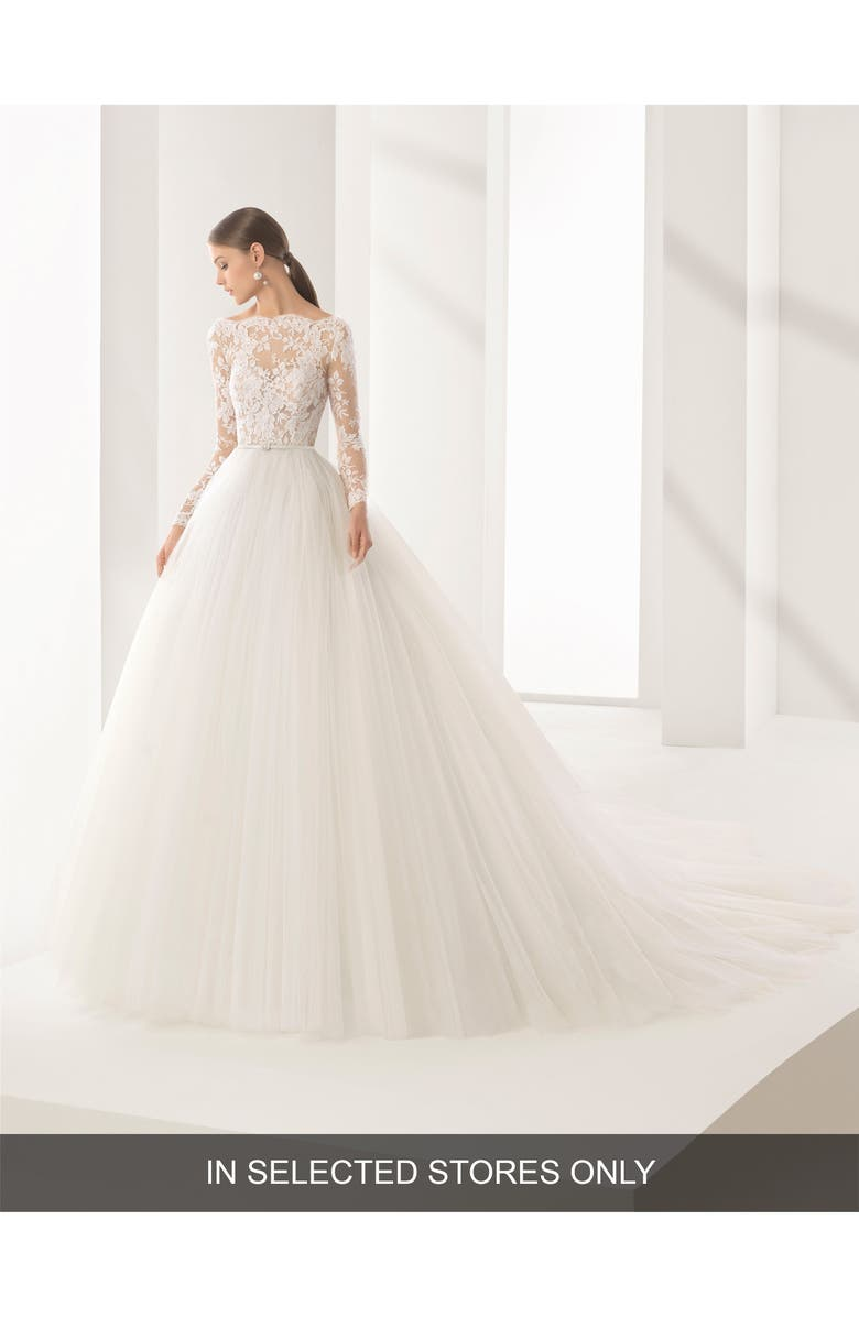 Rosa Clará Couture Niher Lace   Tulle Ballgown  eb4a5eaf0