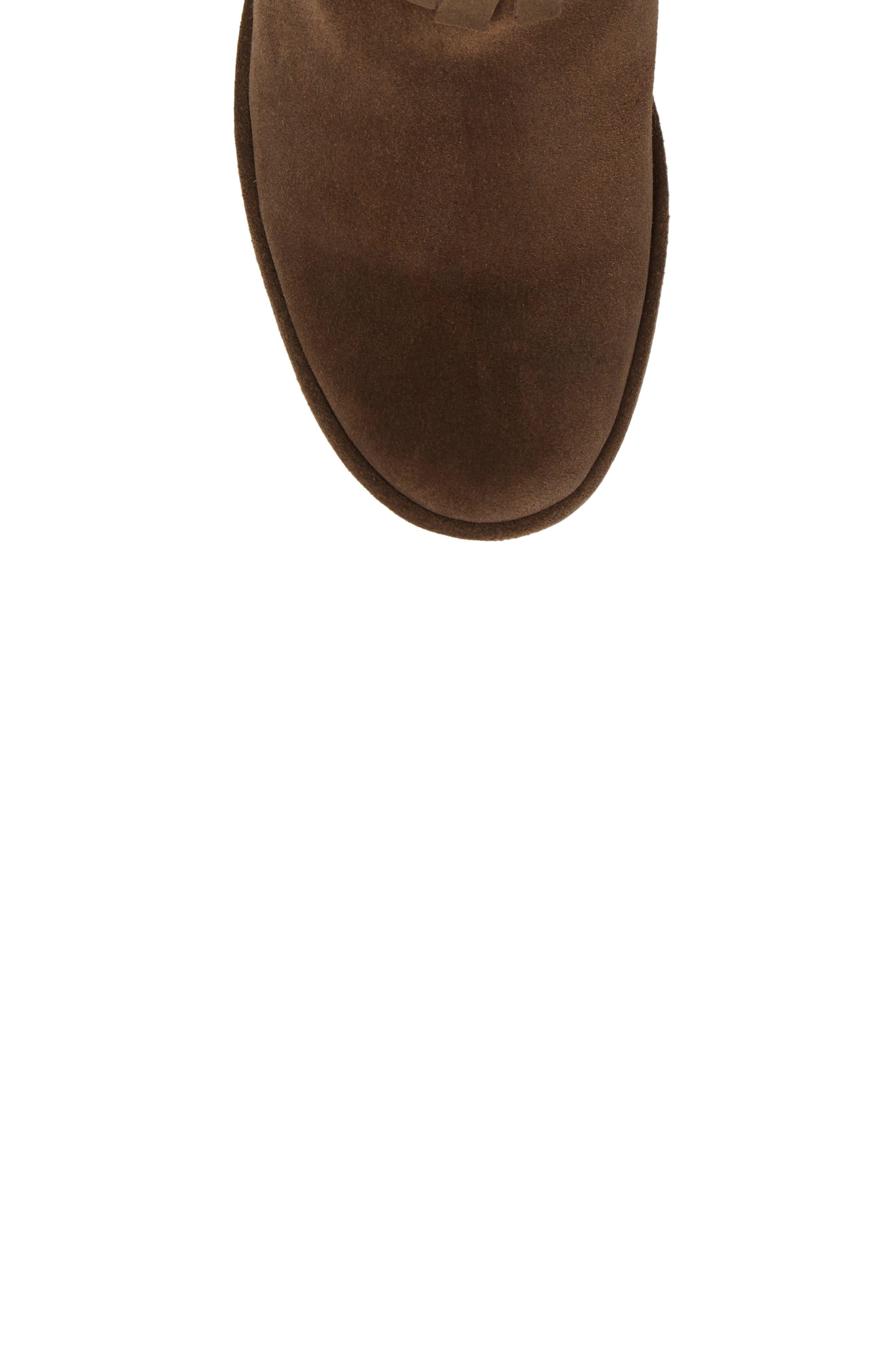Yagi Fringe Boot,                             Alternate thumbnail 5, color,                             201