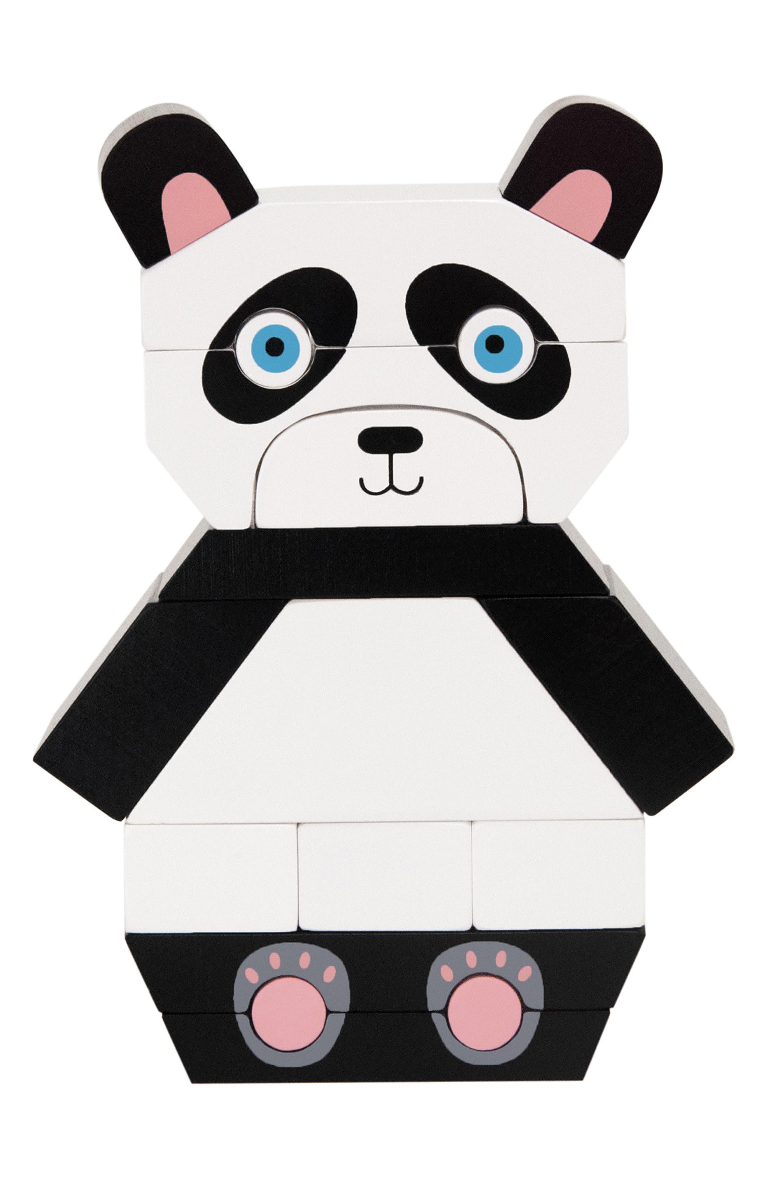 Patches the Panda Magnetized Blocks,                             Main thumbnail 1, color,                             001