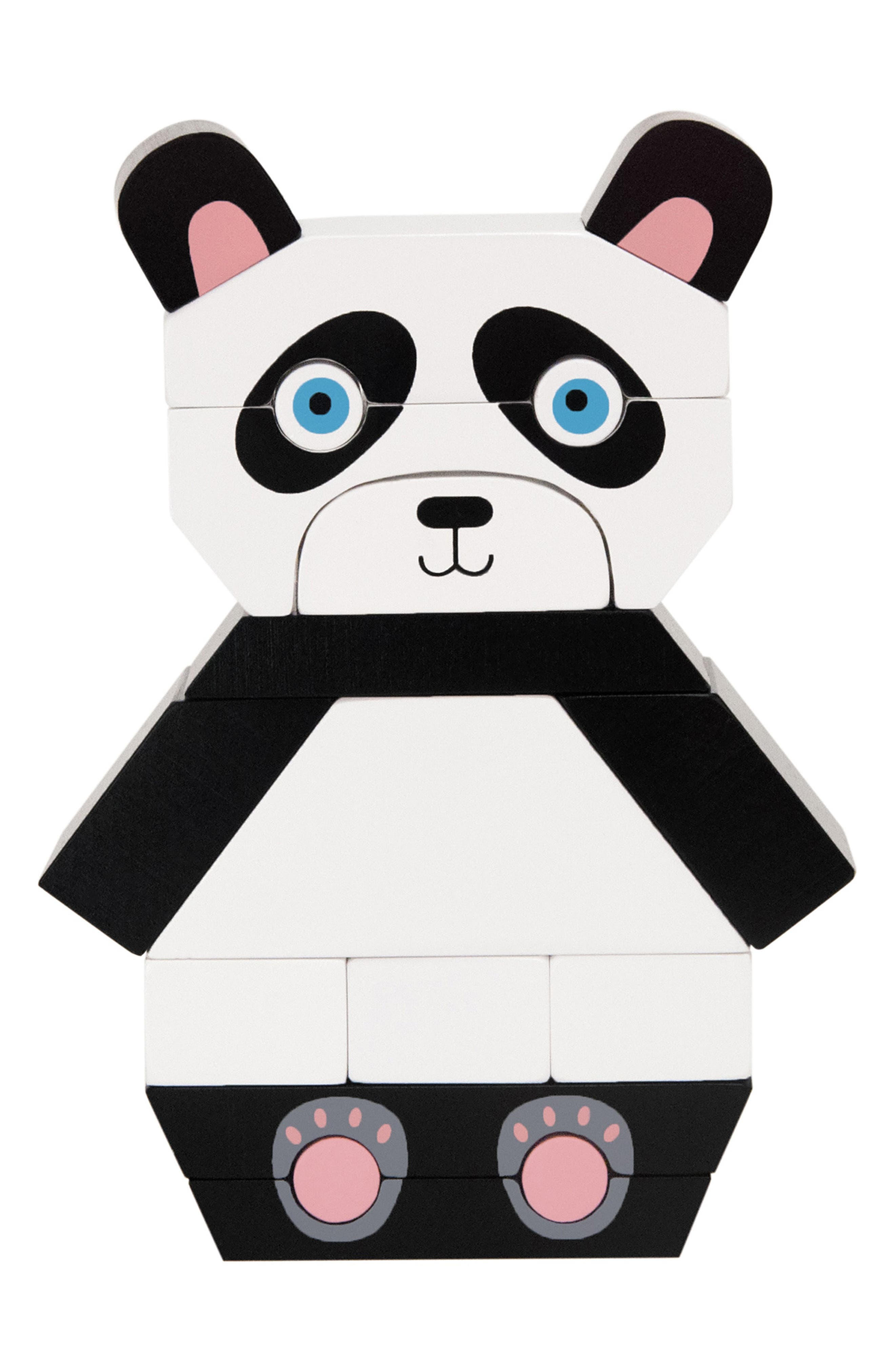 Patches the Panda Magnetized Blocks,                         Main,                         color, 001