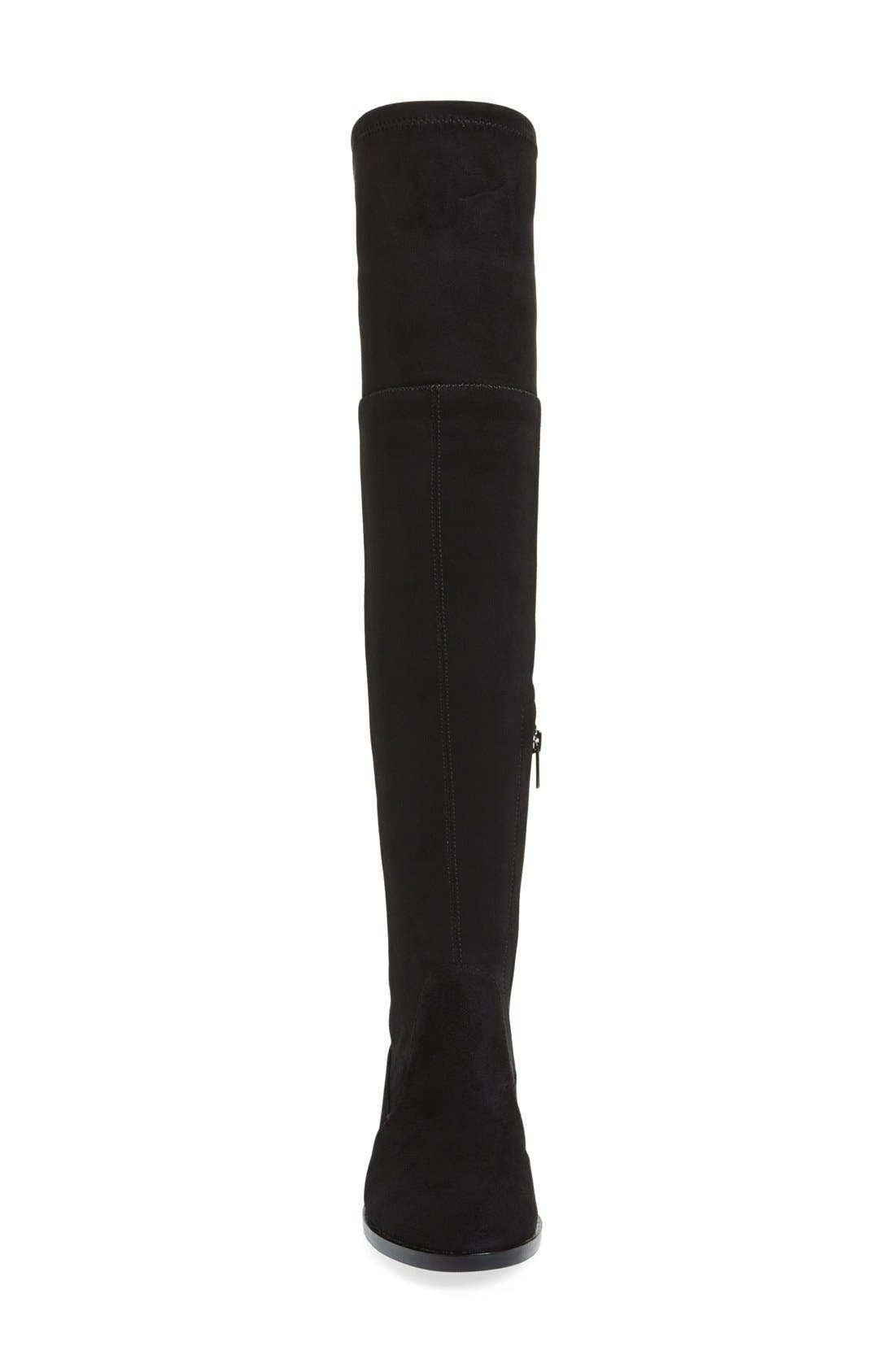 VINCE CAMUTO,                             Crisintha Over the Knee Boot,                             Alternate thumbnail 4, color,                             001