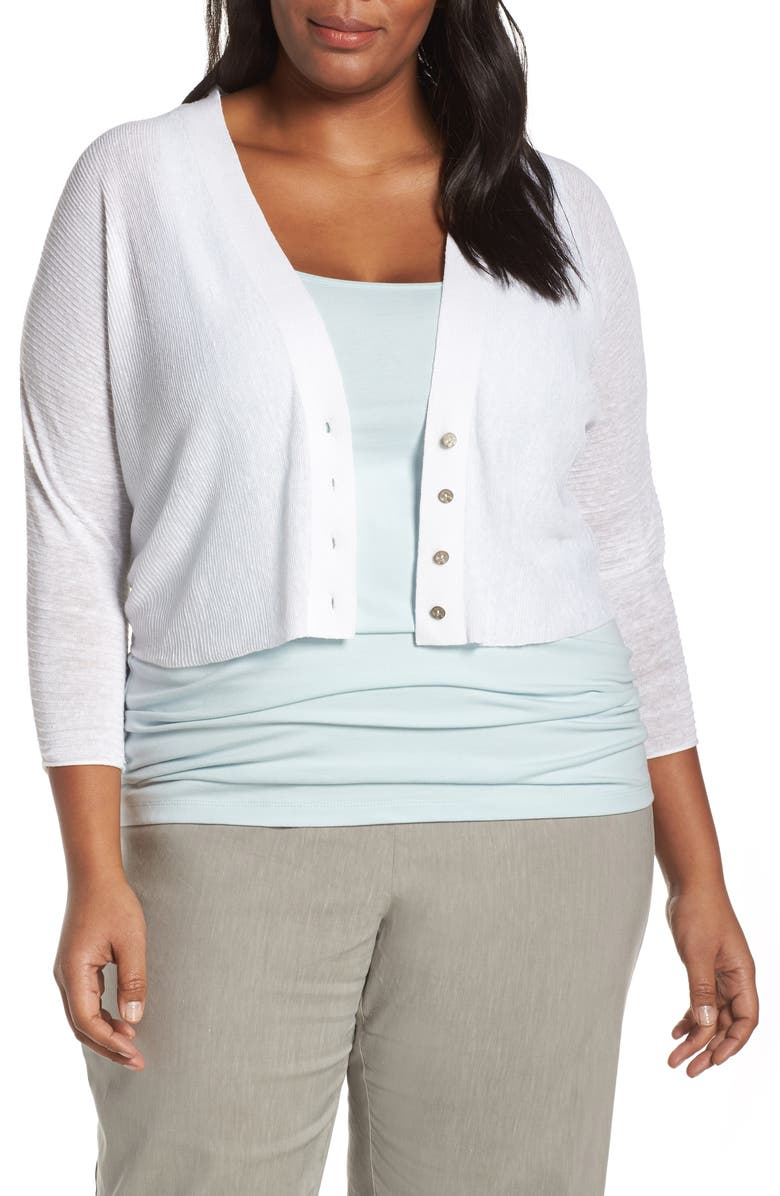 2d8122f044073 NIC+ZOE Moonlit Cardigan (Plus Size)
