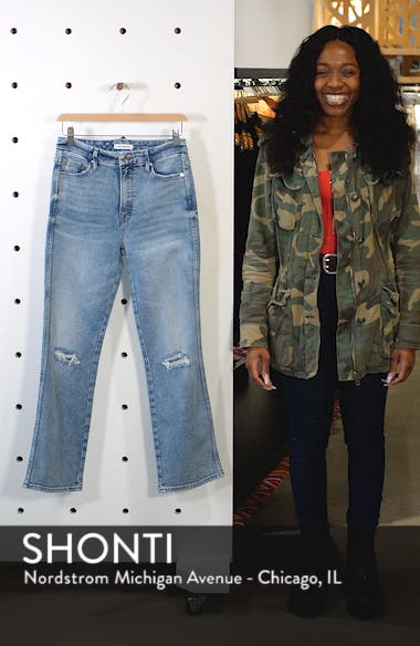 Good Curve High Waist Ankle Straight Leg Jeans, sales video thumbnail