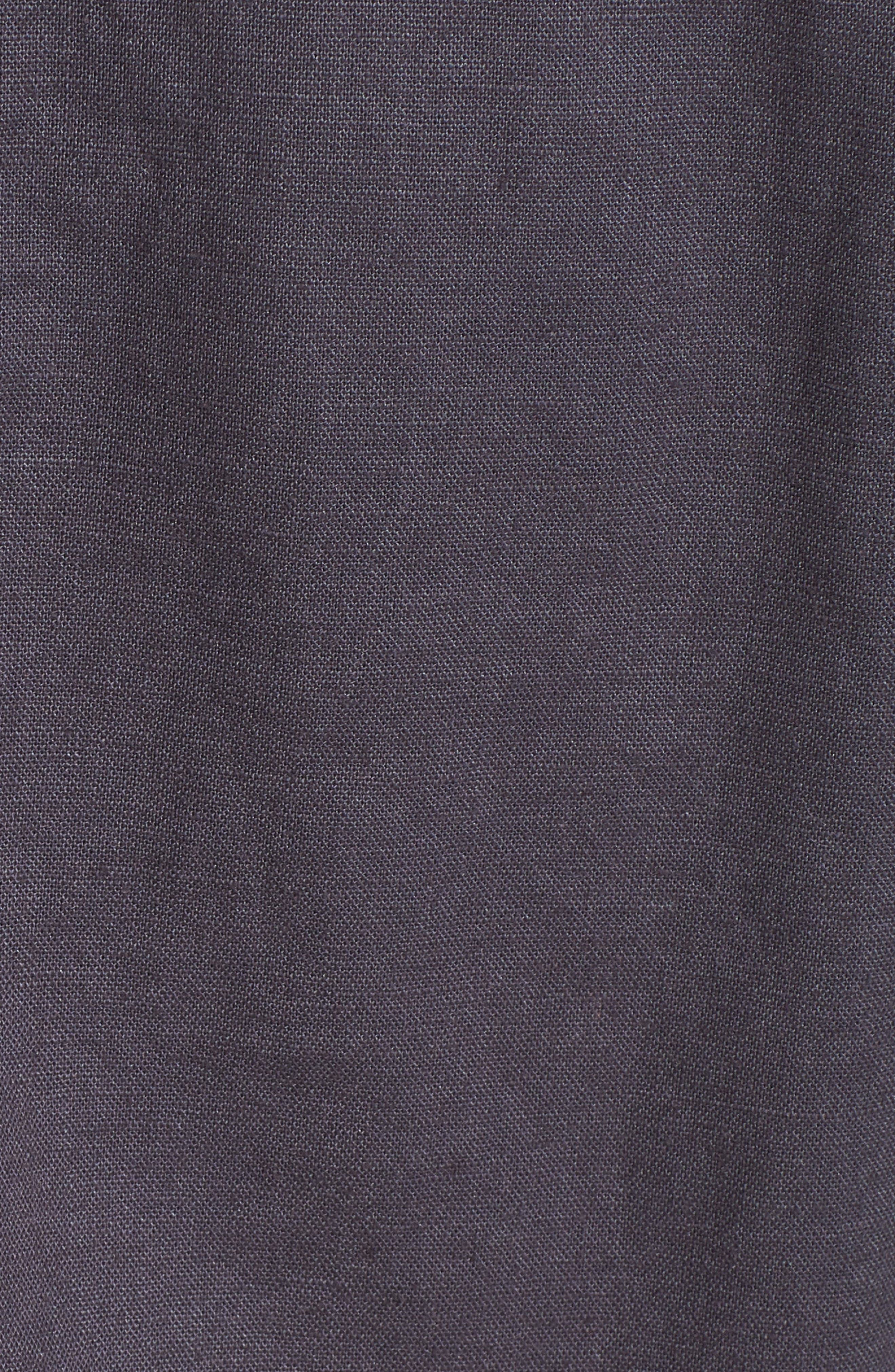 Tie Sleeve Linen & Cotton Jacket,                             Alternate thumbnail 6, color,                             030