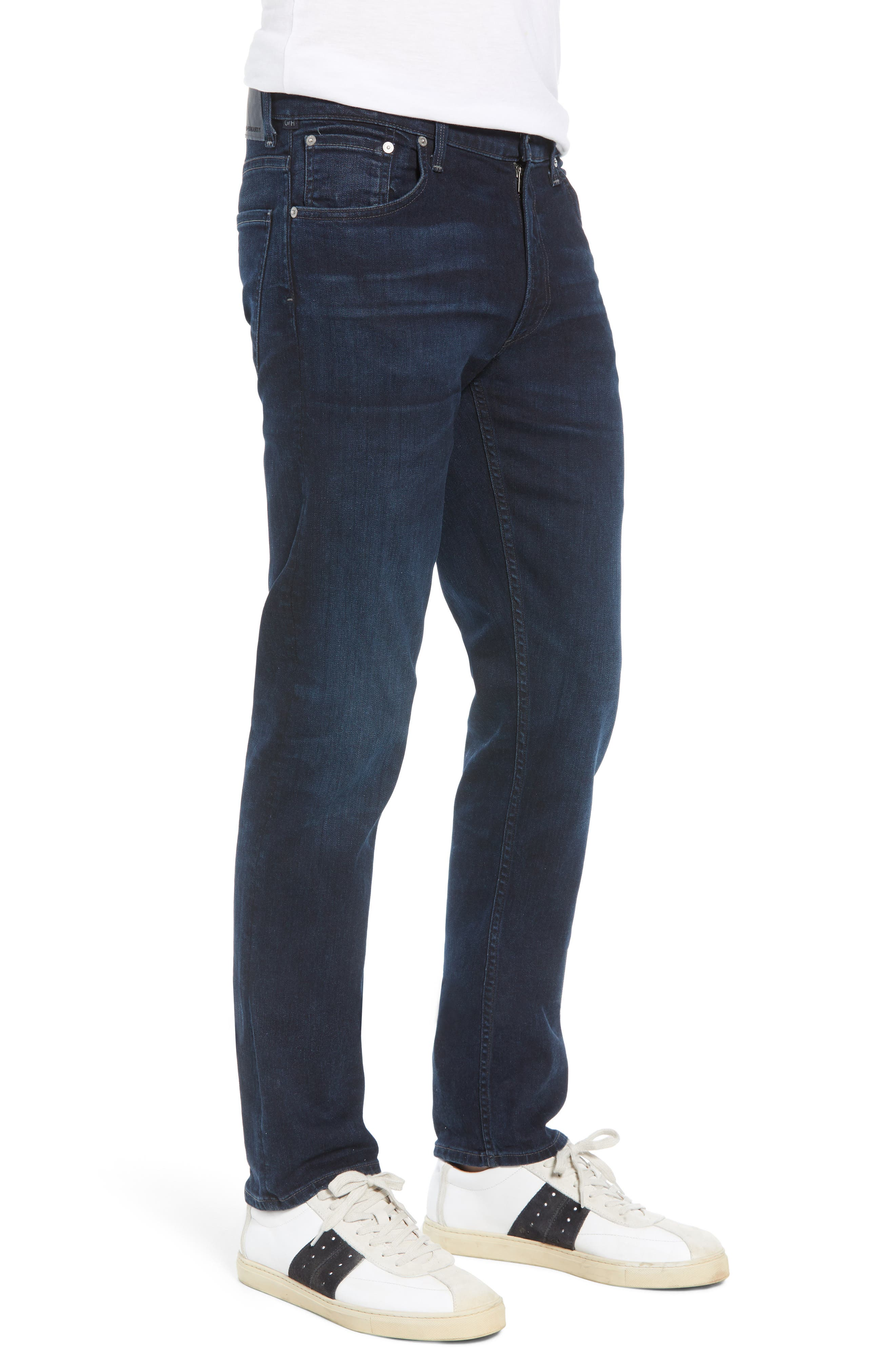 Bowery Slim Fit Jeans,                             Alternate thumbnail 3, color,                             407