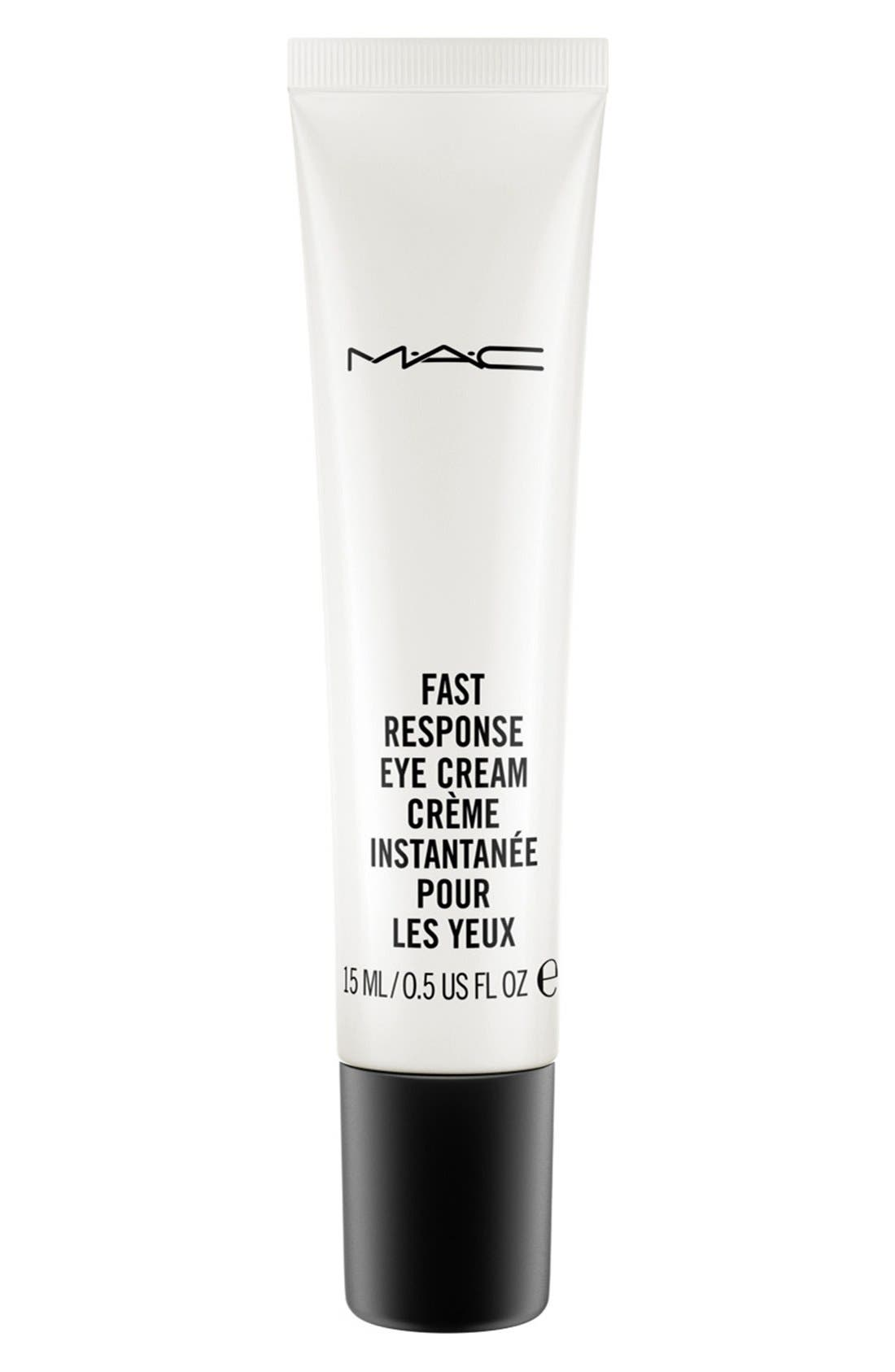 MAC Fast Response Eye Cream,                             Main thumbnail 1, color,                             NO COLOR