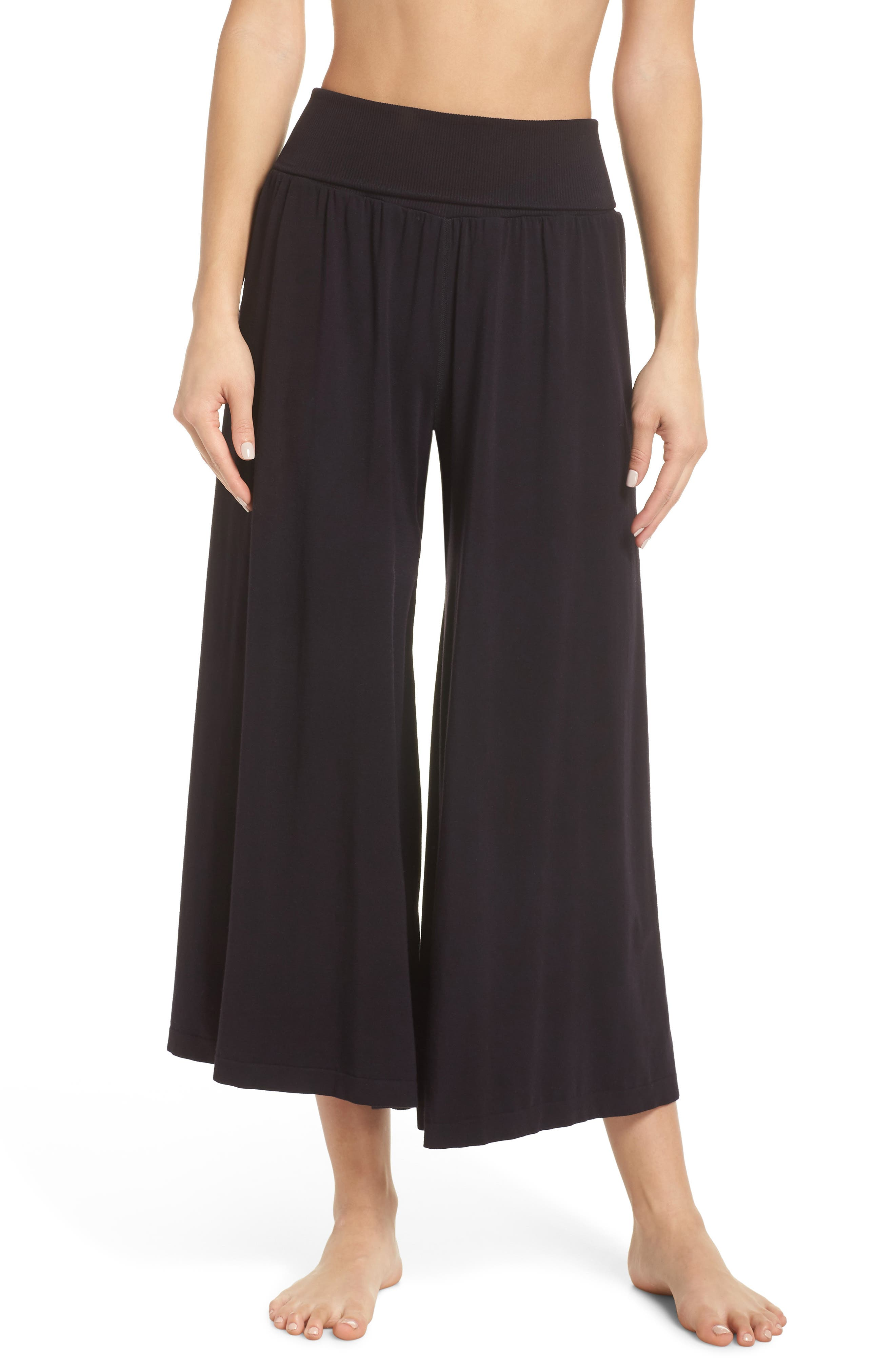 FREE PEOPLE MOVEMENT Free People Fp Movement Willow Wide Leg Pants in Black
