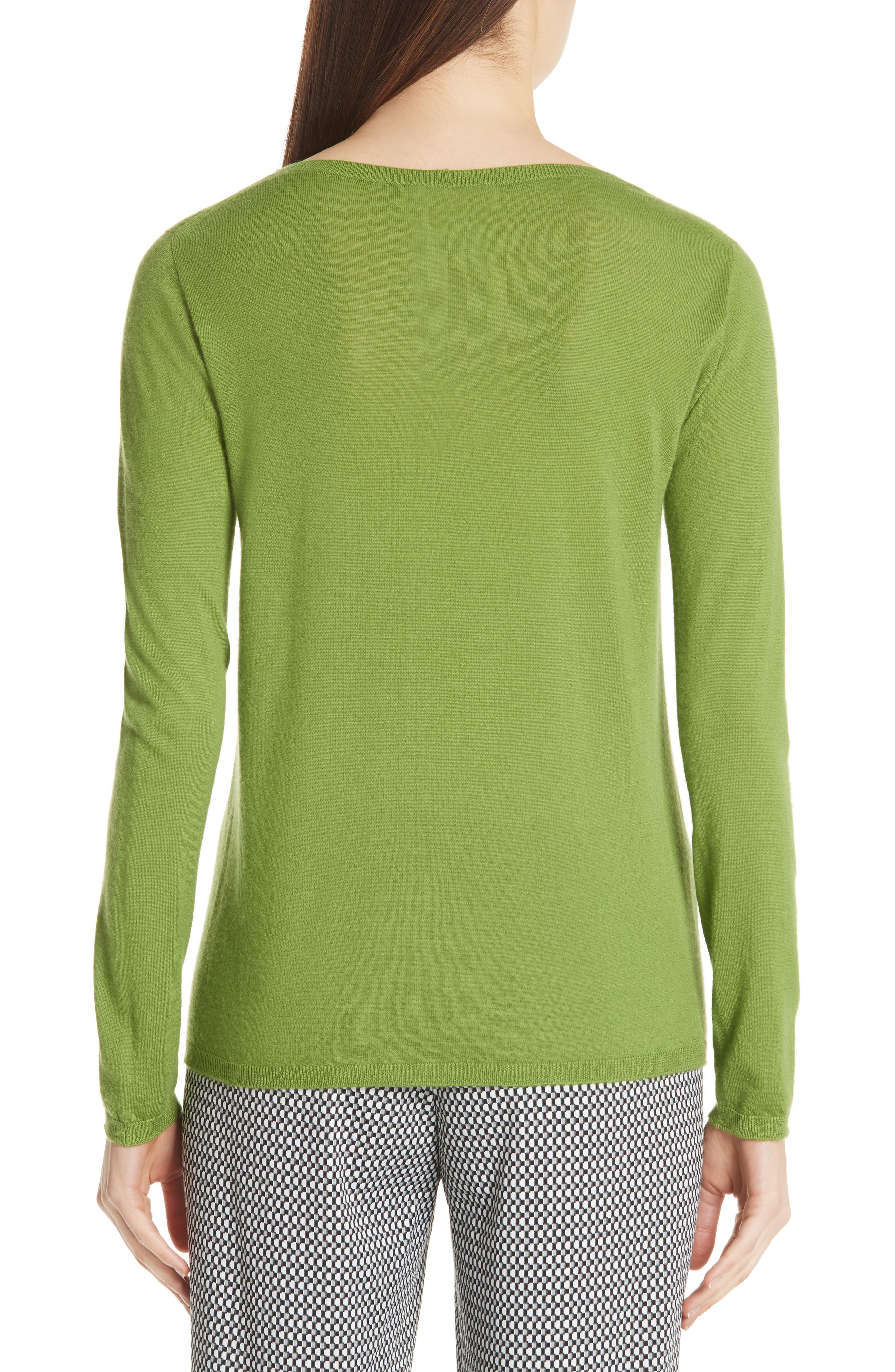 MAX MARA,                             Charles Cashmere Sweater,                             Alternate thumbnail 2, color,                             314