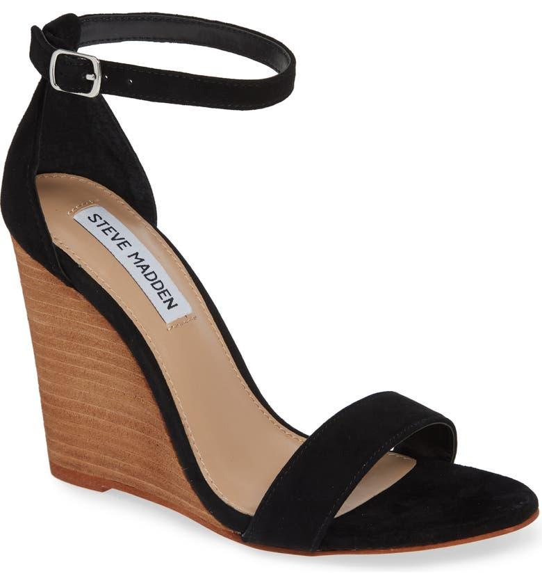778584024ac3 Steve Madden Mary Ankle Strap Wedge (Women)
