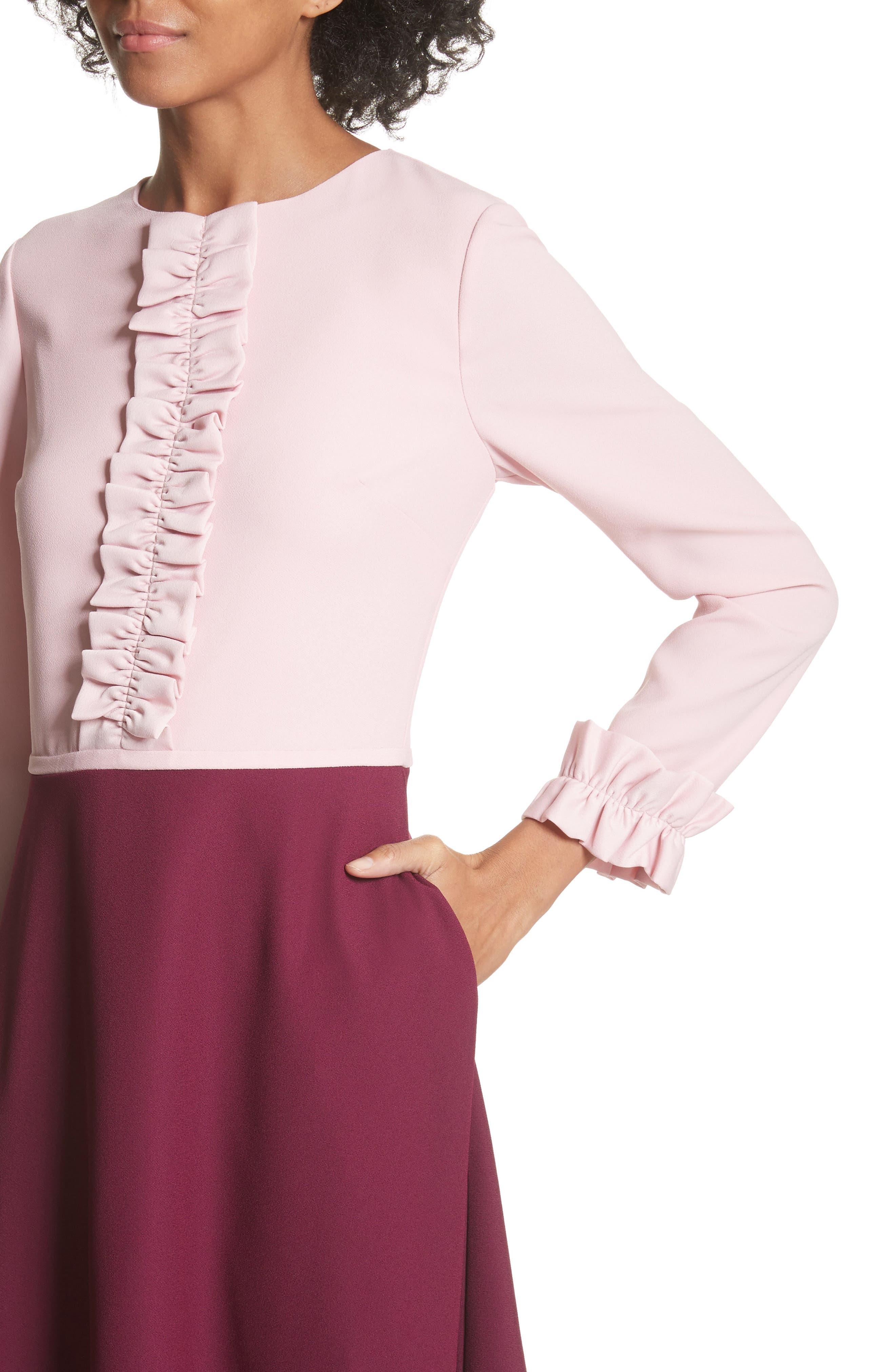 Steyla Ruffle Dress,                             Alternate thumbnail 4, color,                             652