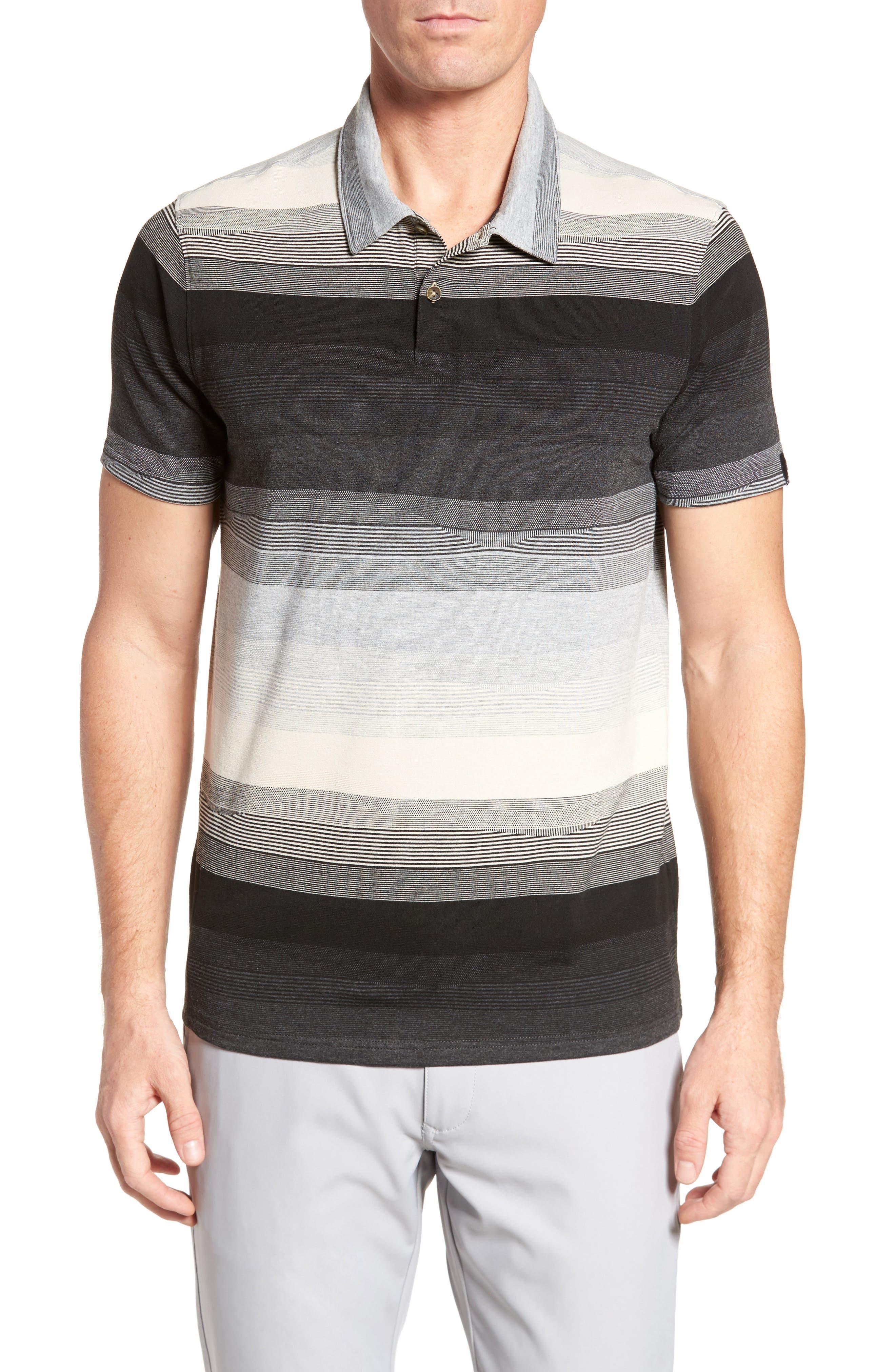 Lateral Polo Shirt,                             Main thumbnail 1, color,                             031