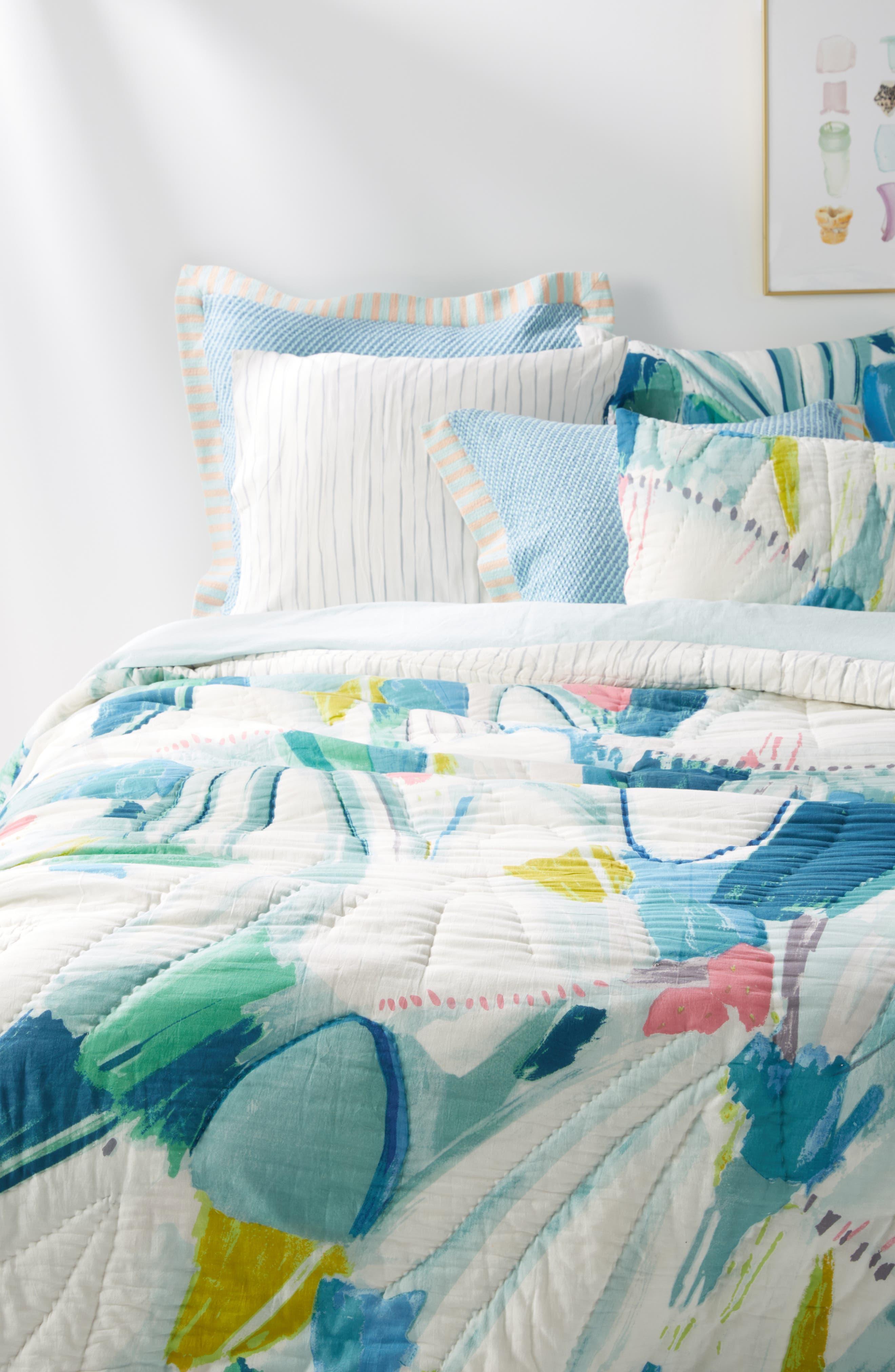 Laci Fowler Quilt,                             Alternate thumbnail 6, color,                             BLUE
