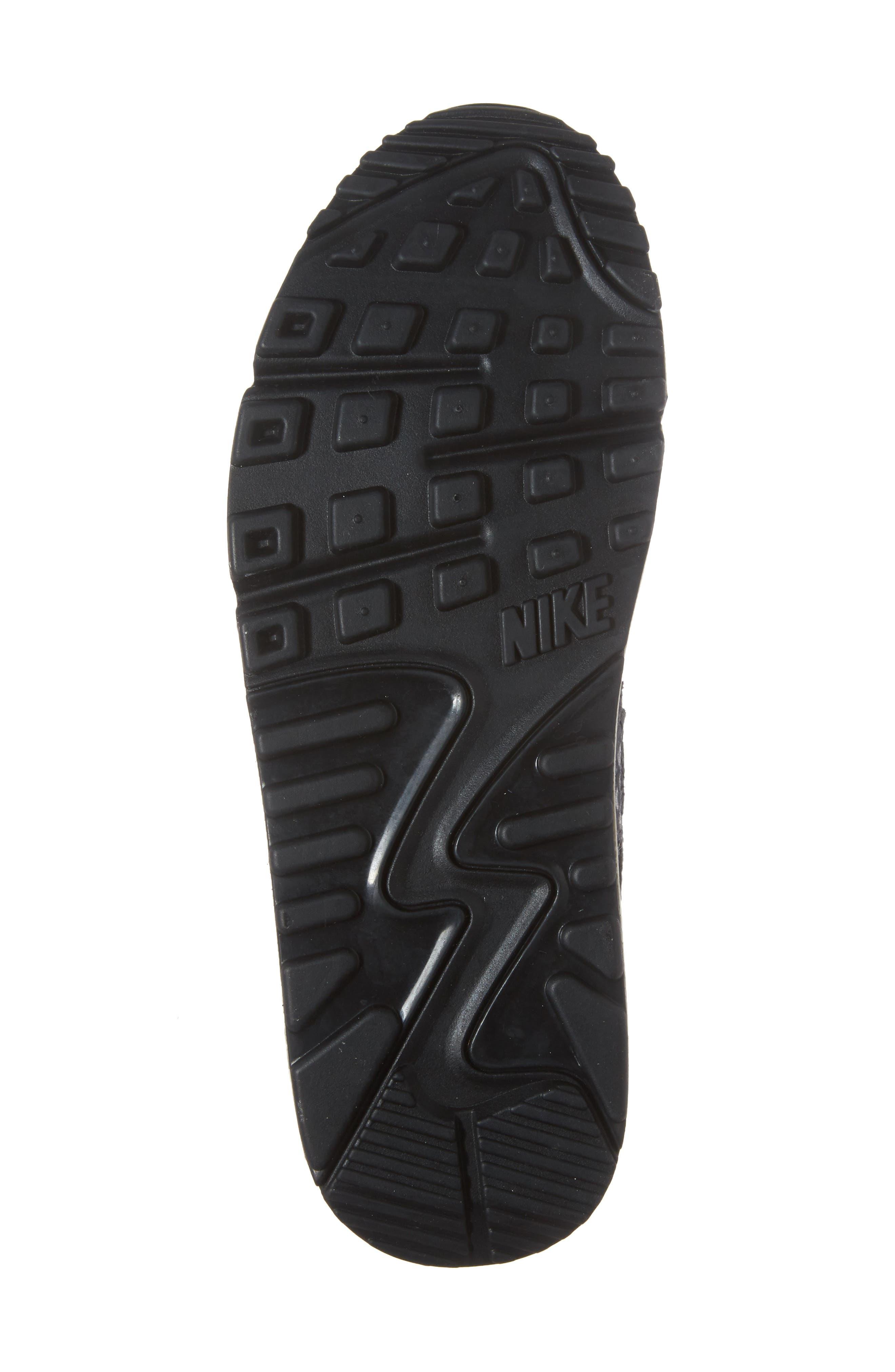 Air Max 90 Embossed Premium Sneaker,                             Alternate thumbnail 6, color,                             005