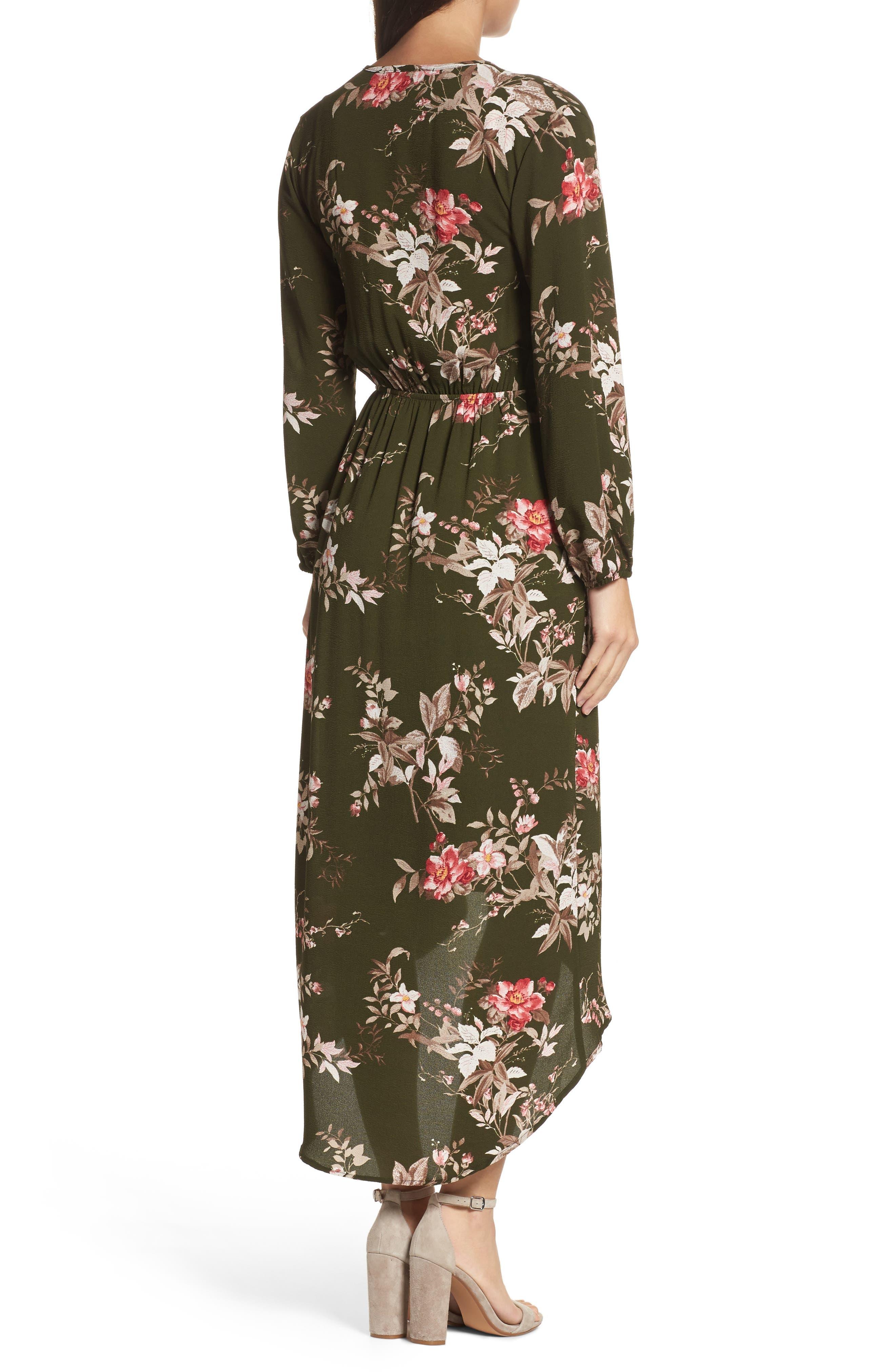 High/Low Maxi Dress,                             Alternate thumbnail 2, color,                             315