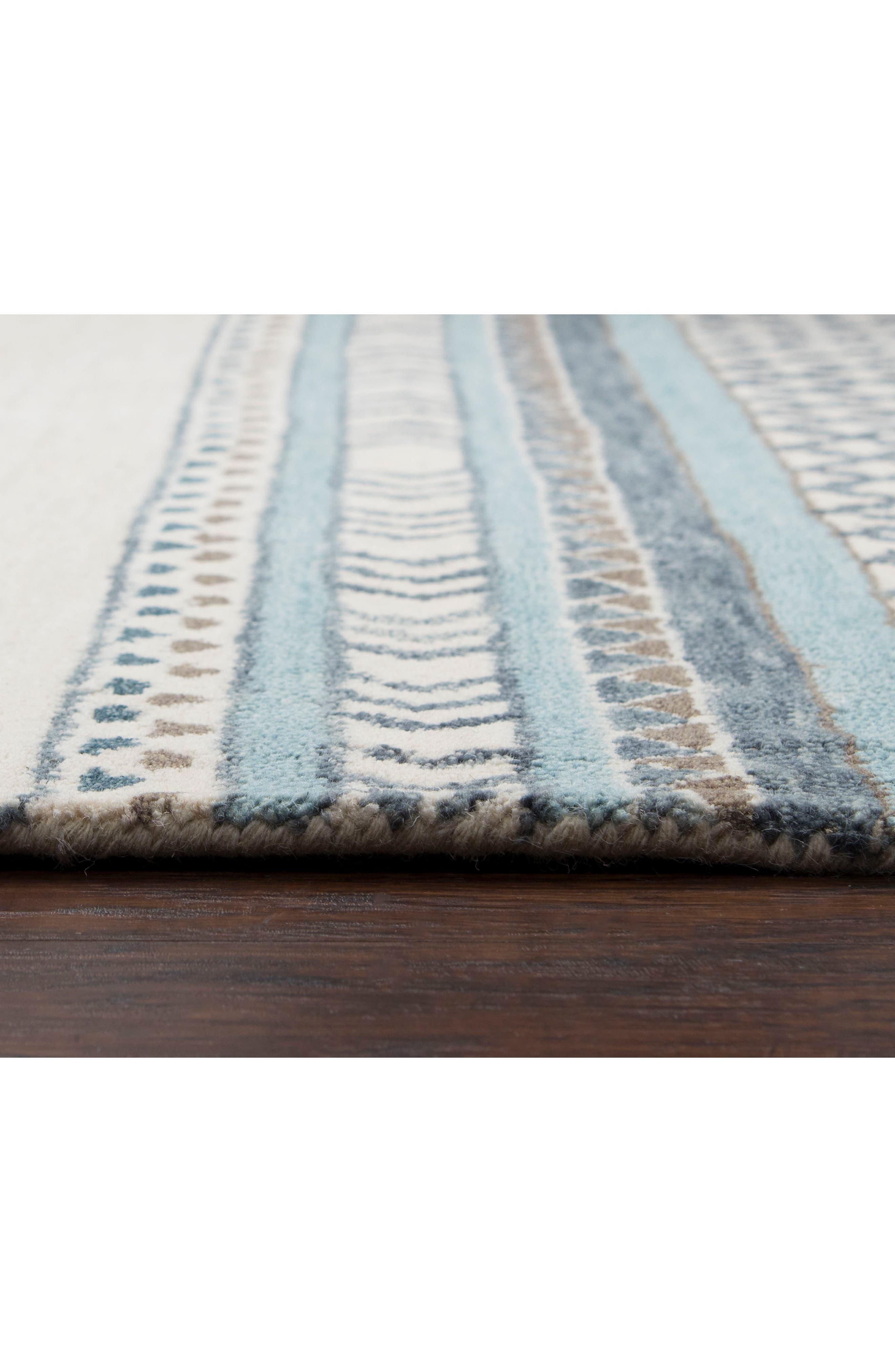 Hand Tufted Wool Blanket Rug,                             Alternate thumbnail 3, color,                             400