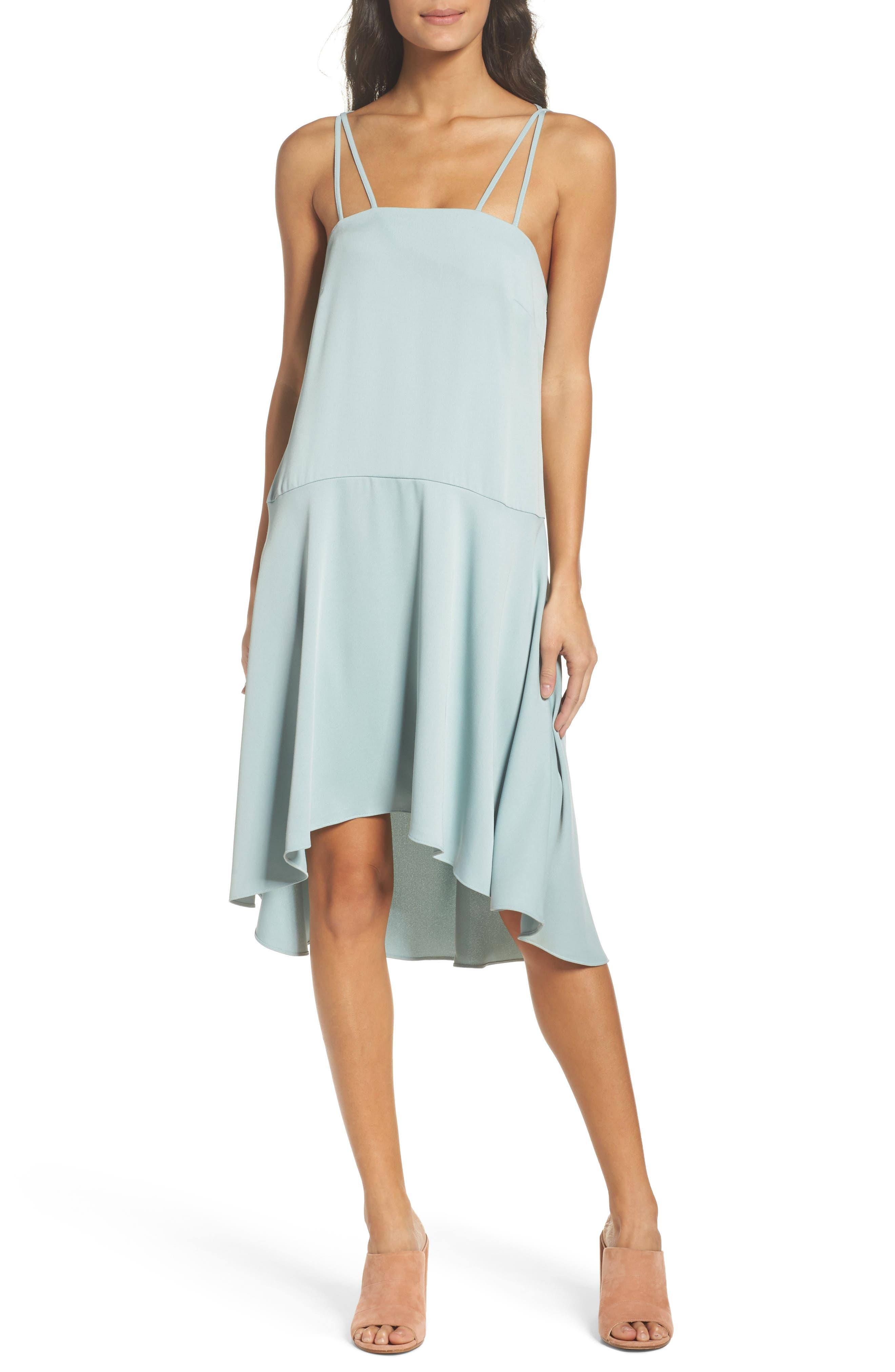 BB DAKOTA OCCASION,                             BB Dakota Bobbie High/Low Dress,                             Main thumbnail 1, color,                             350