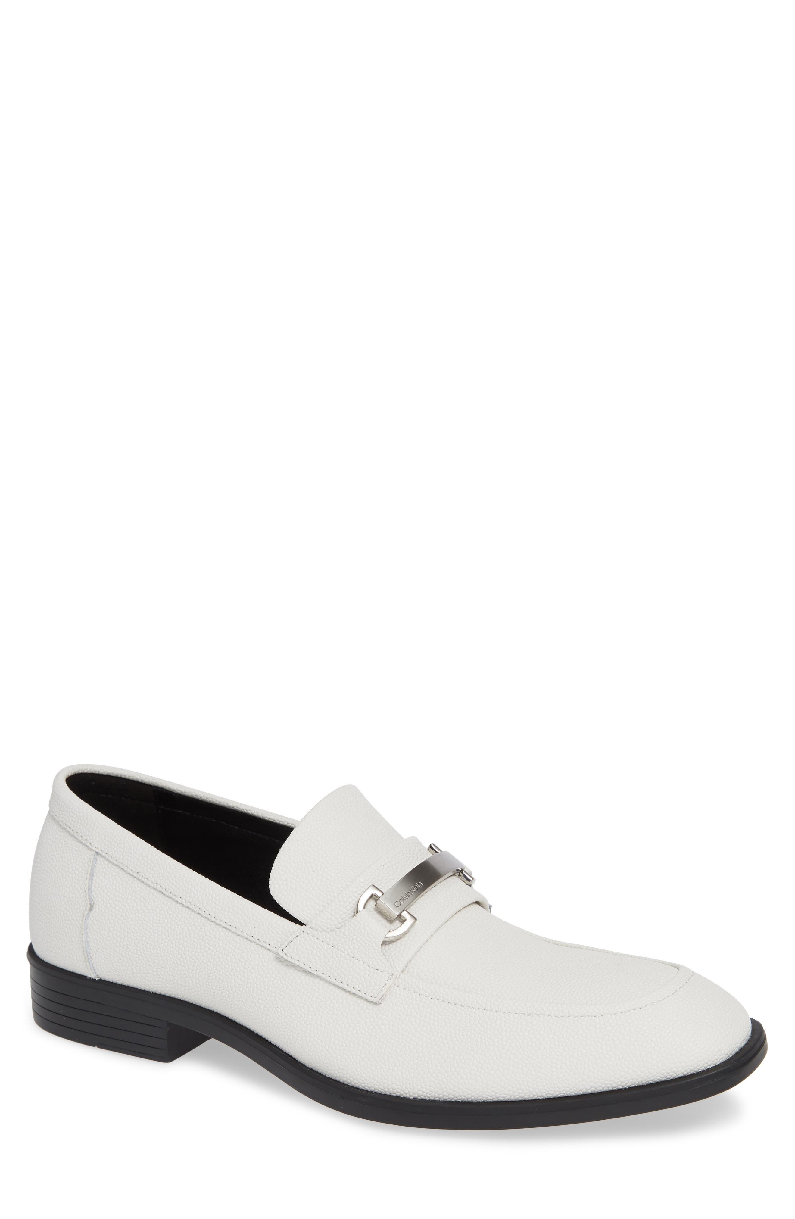 Calvin Klein Craig Bit Loafer, White