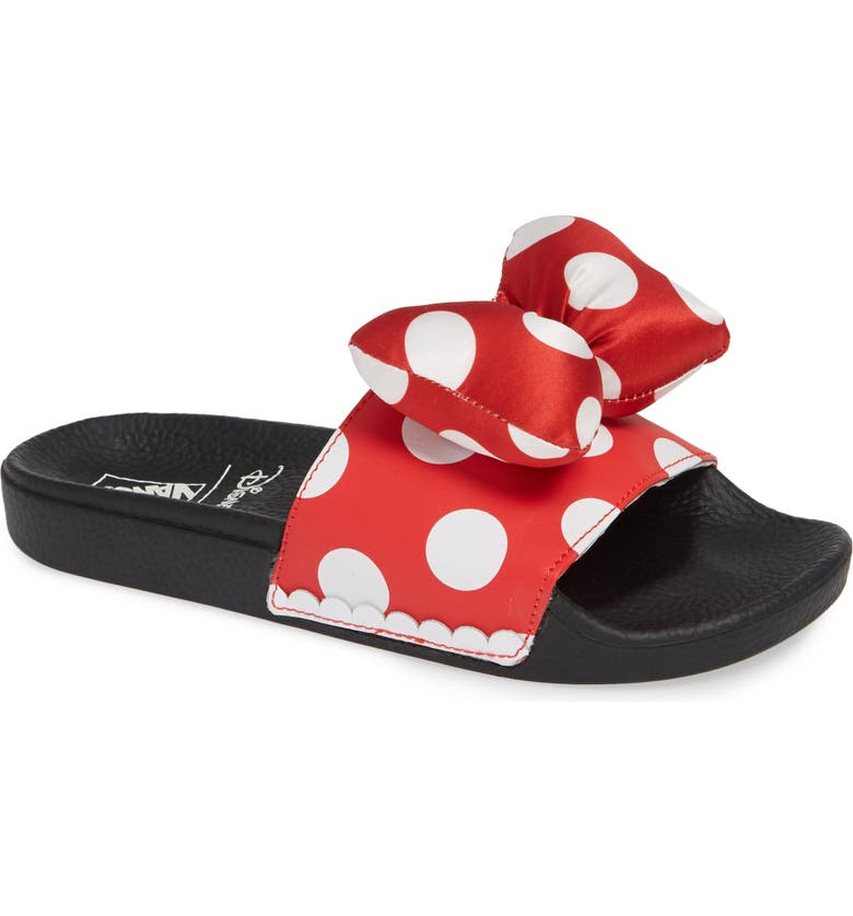 Vans x Disney Minnie Mouse Slide Sandal (Women)  00f74965c