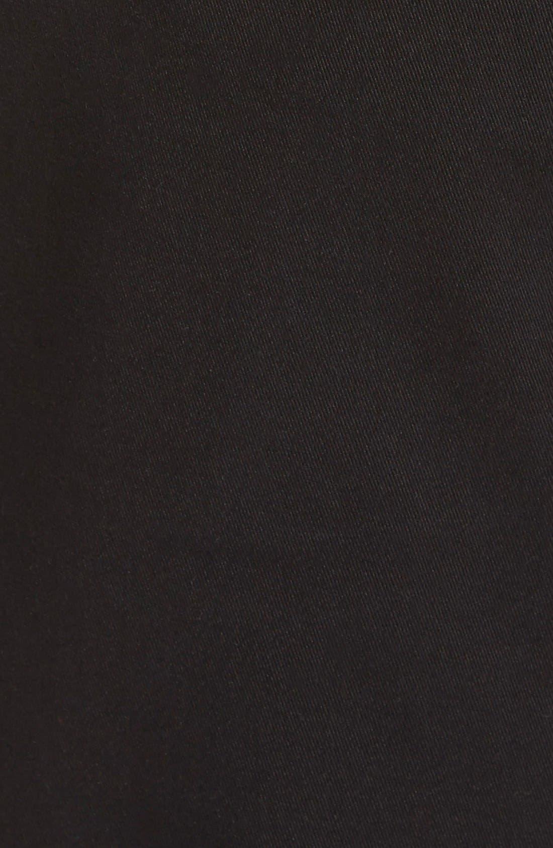 Crescent Pima Cotton Pants,                             Alternate thumbnail 3, color,                             001