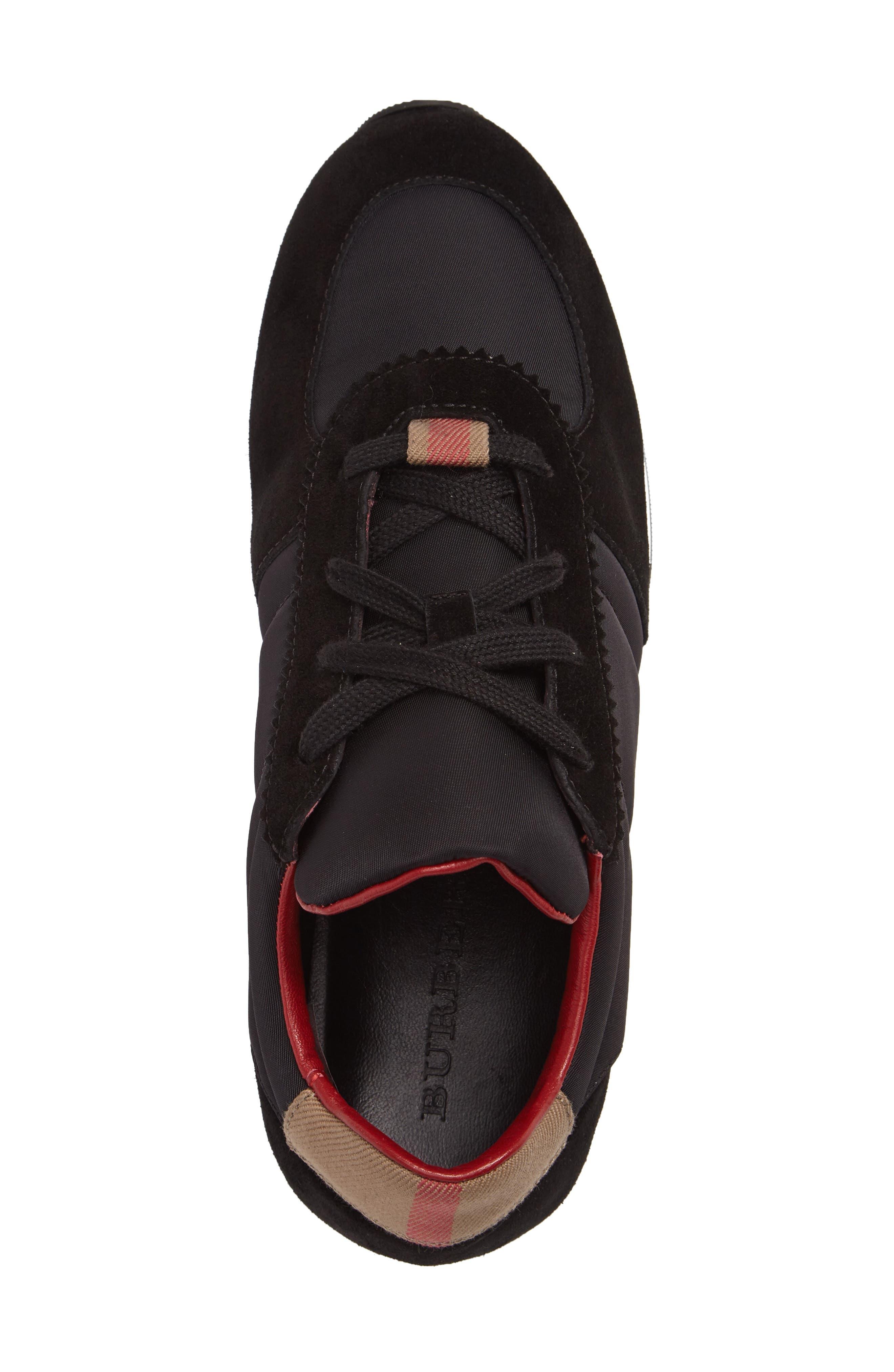Mini Track Sneaker,                             Alternate thumbnail 3, color,                             001