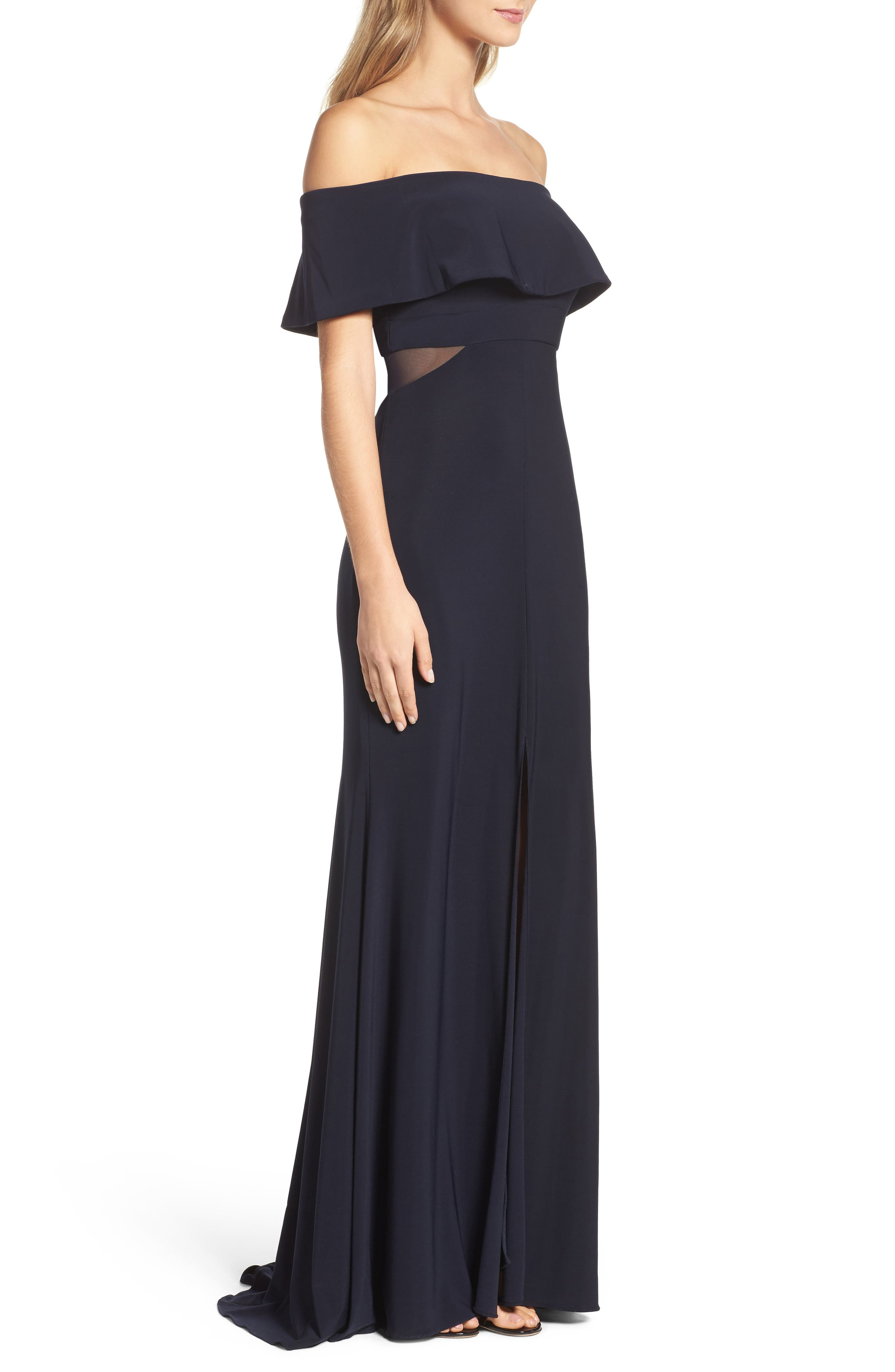 Jersey Popover Gown,                             Alternate thumbnail 9, color,