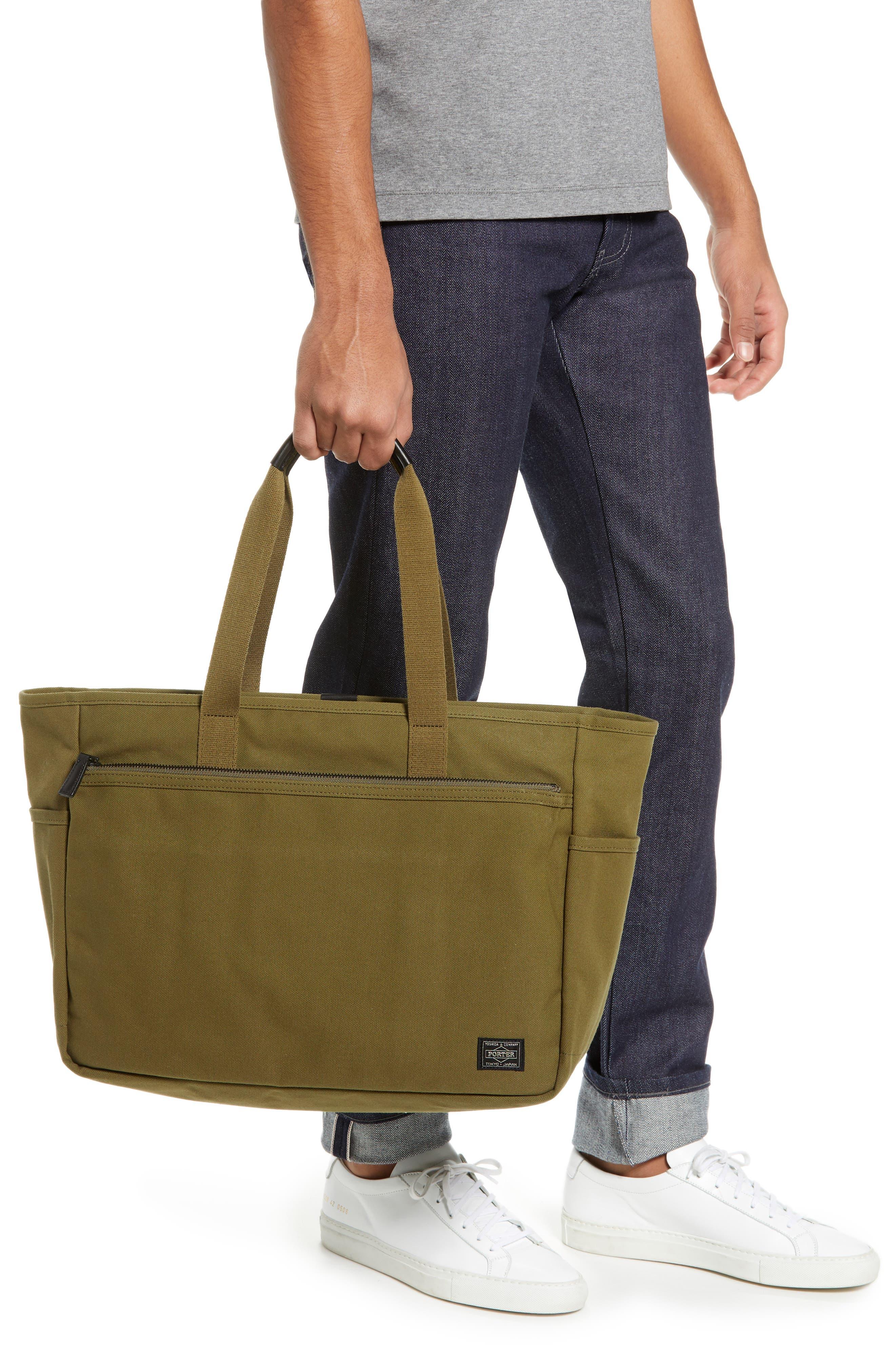 x Porter Travel Tote Bag,                             Alternate thumbnail 2, color,                             OLIVE