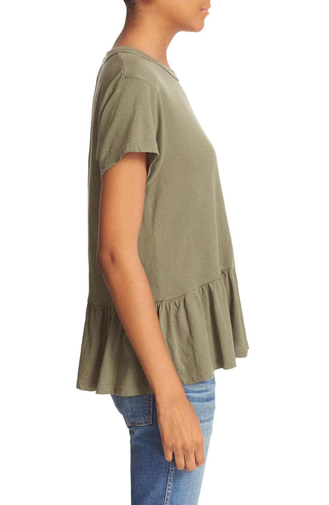 The Ruffle Tee,                             Alternate thumbnail 57, color,