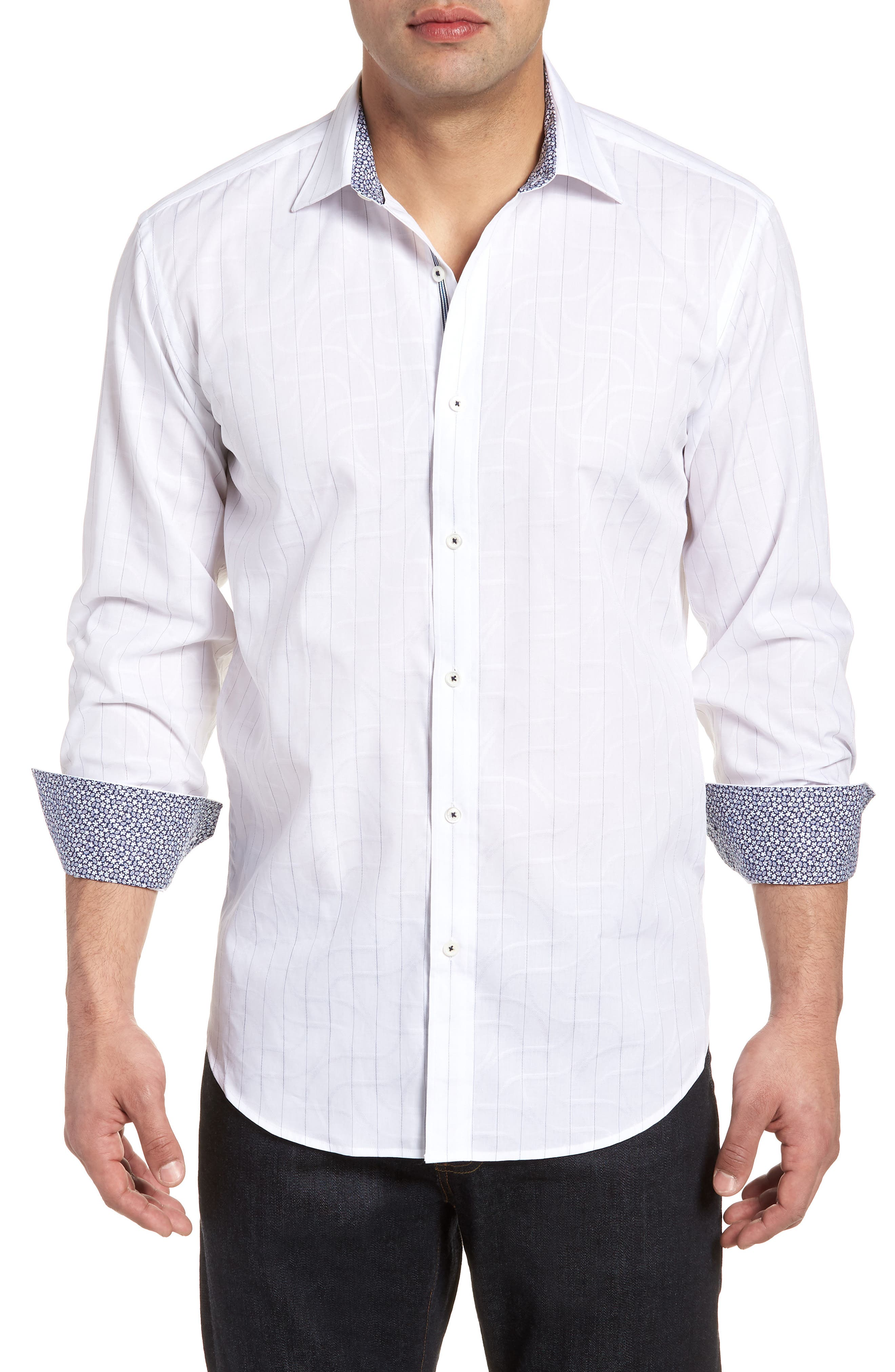 Woven Sport Shirt,                         Main,                         color, 100