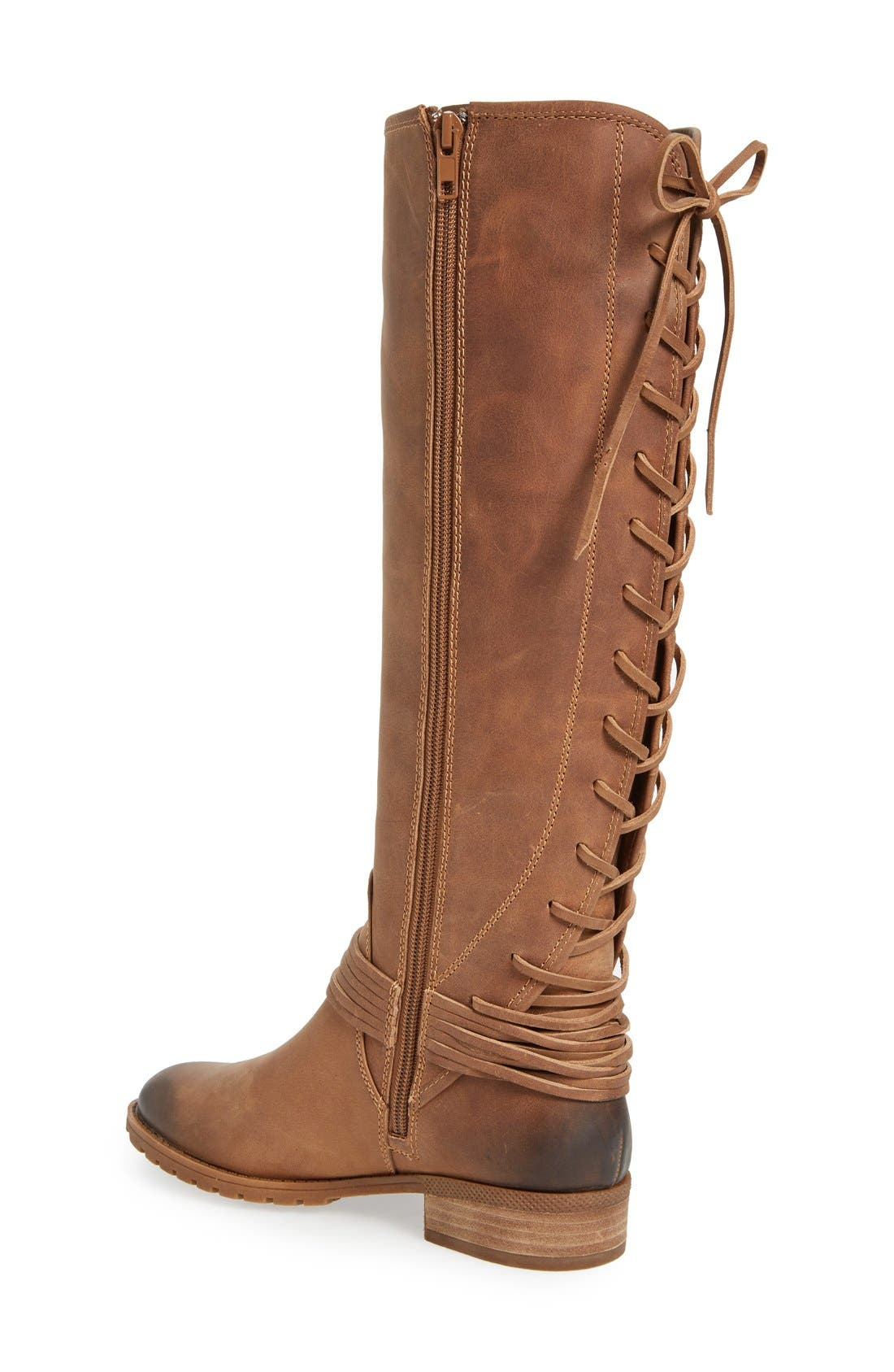 'Darla' Riding Boot,                             Alternate thumbnail 3, color,