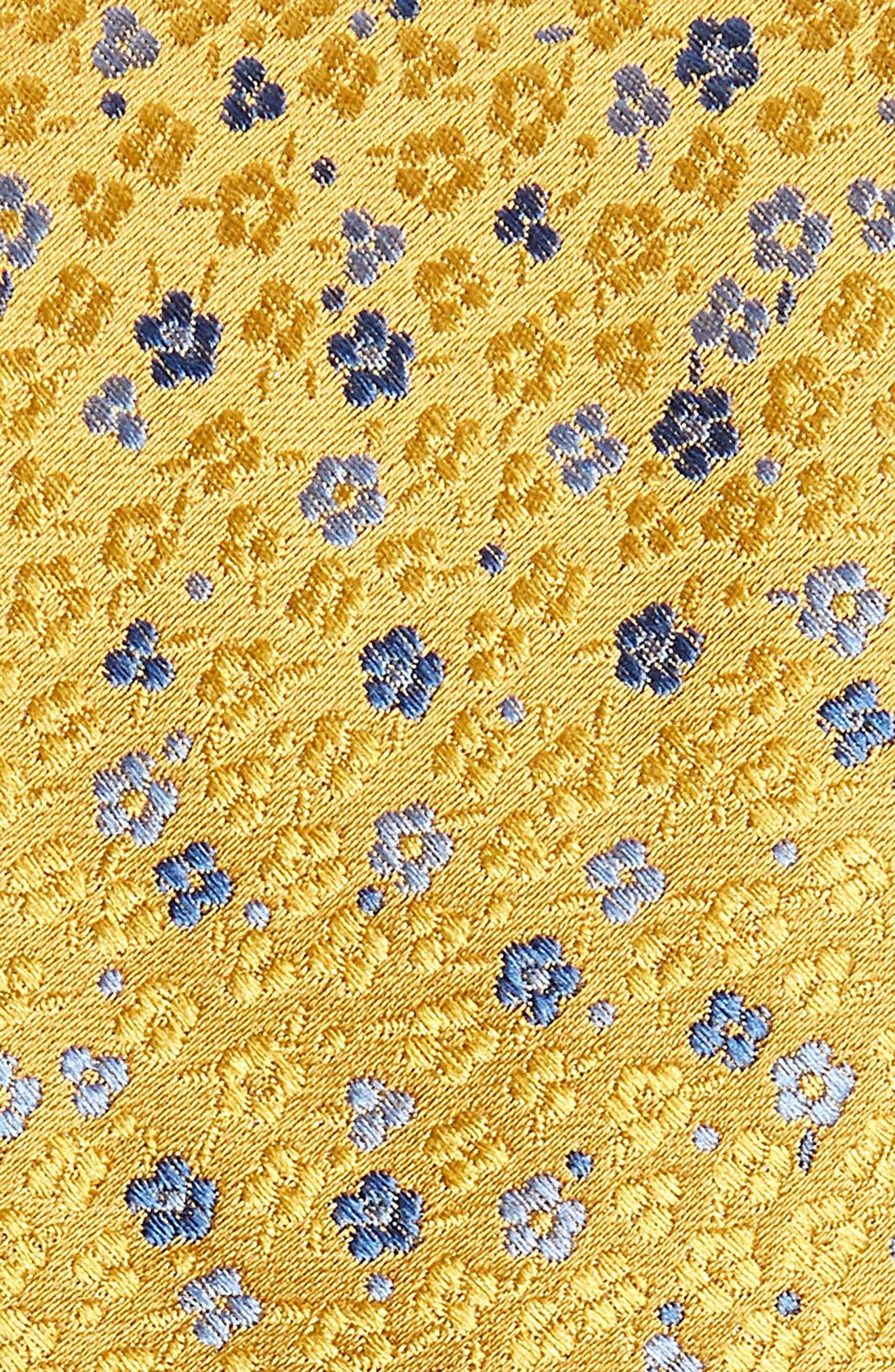 Flower Fields Silk Tie,                             Alternate thumbnail 5, color,