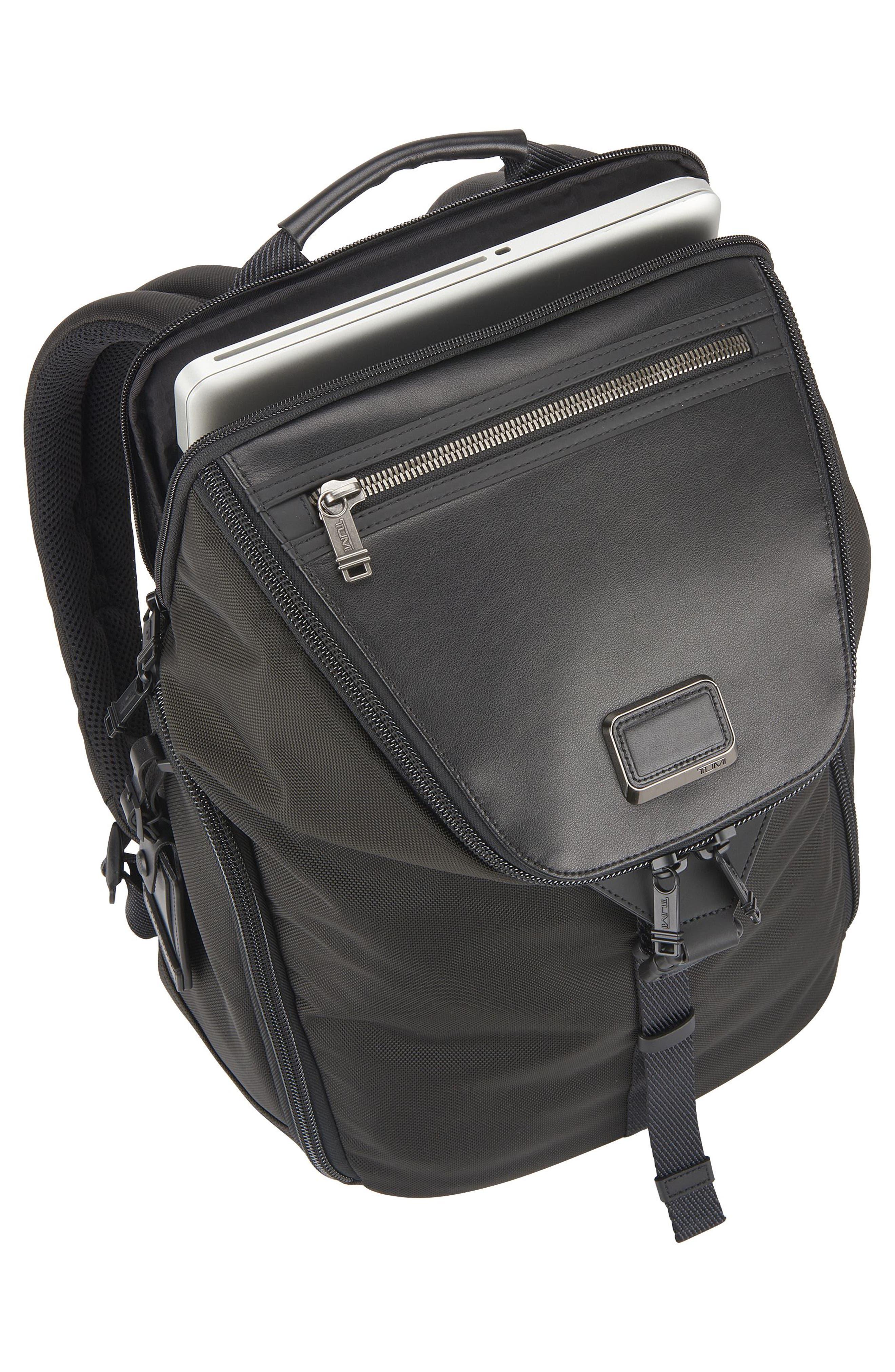 TUMI,                             Alpha Bravo - Willow Backpack,                             Alternate thumbnail 5, color,                             001