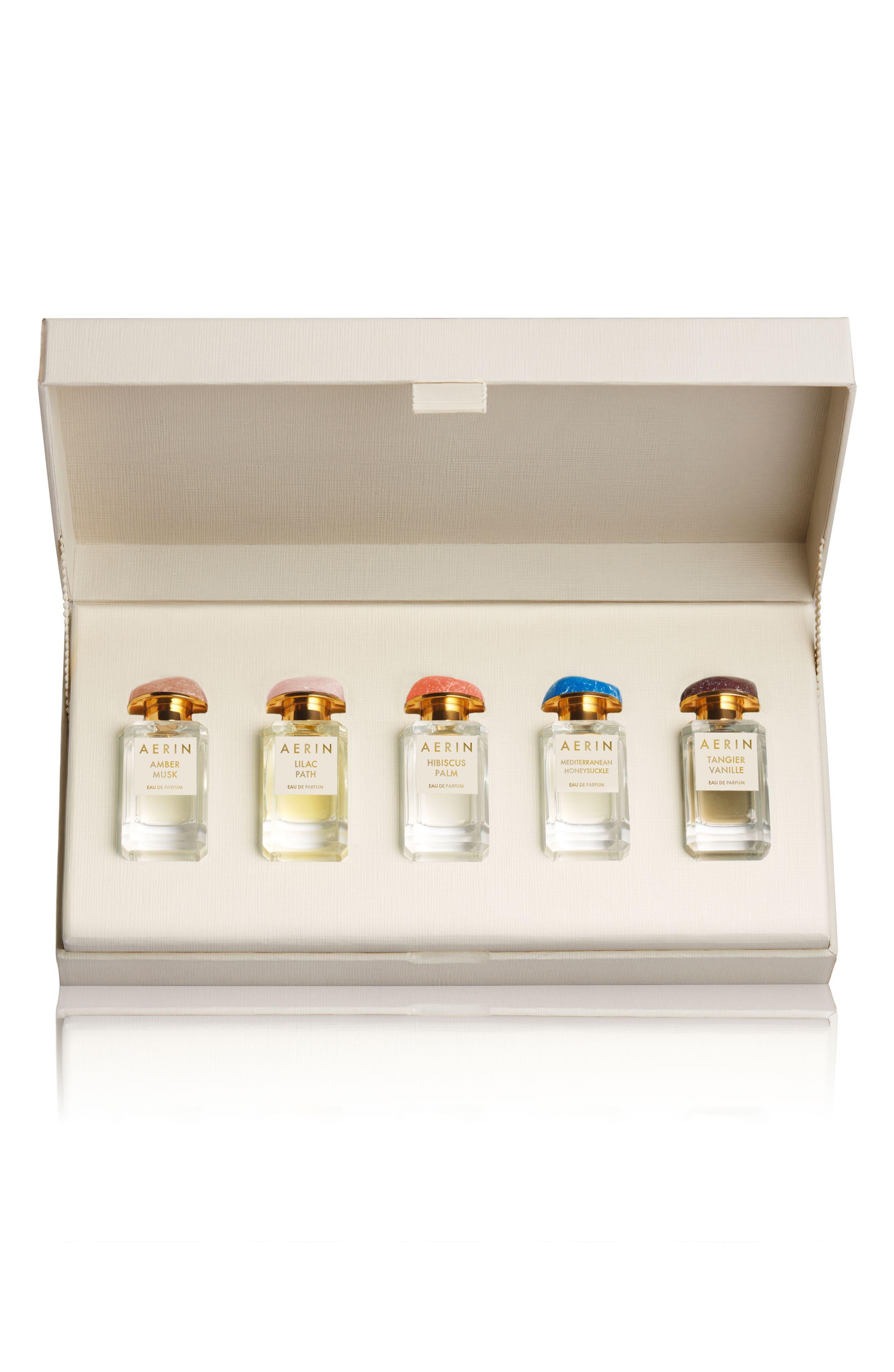 ESTÉE LAUDER,                             AERIN Beauty Fragrance Collection Discovery Set,                             Main thumbnail 1, color,                             NO COLOR