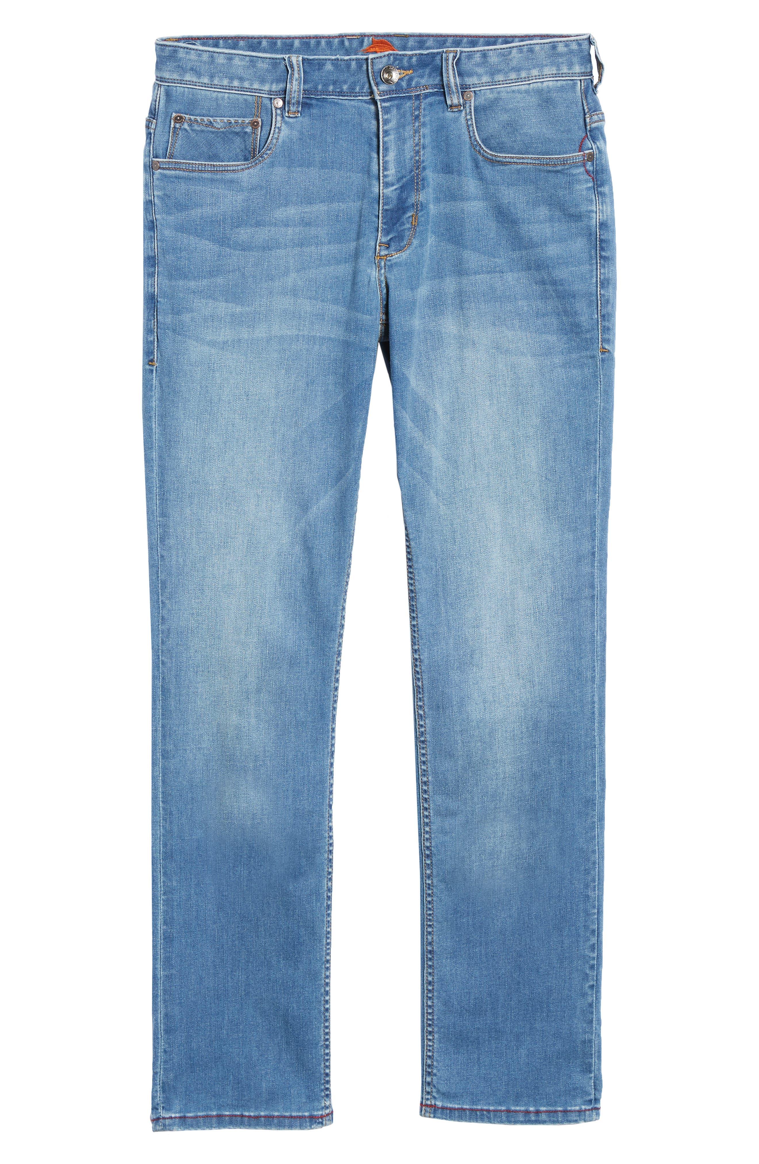Costa Rica Vintage Regular Fit Jeans,                             Alternate thumbnail 6, color,                             MED WASH