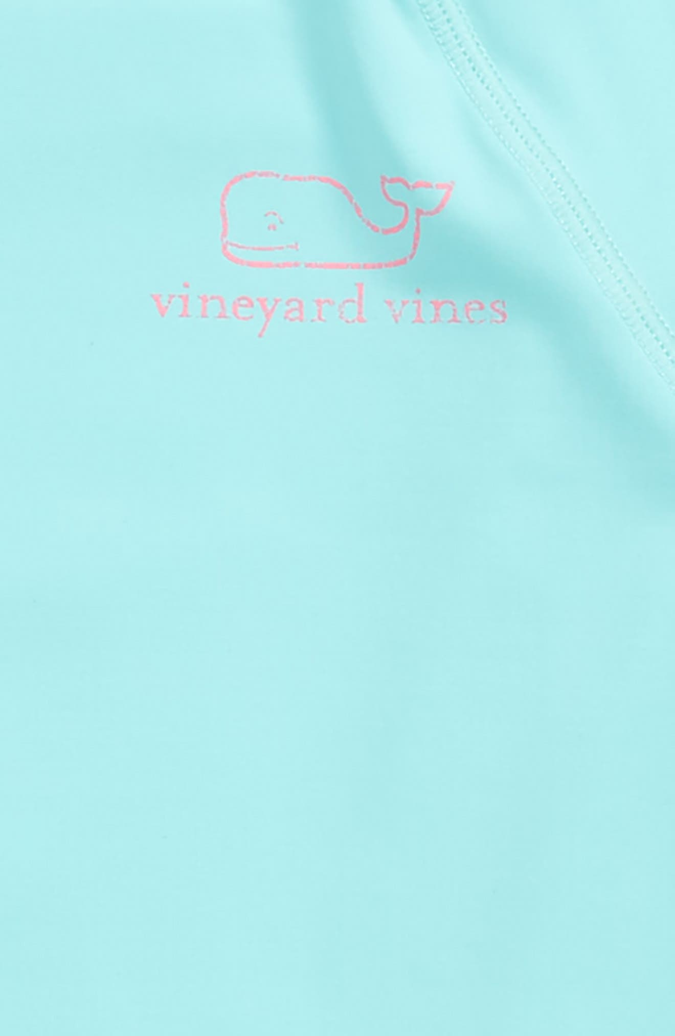 Vintage Whale Long Sleeve Rashguard,                             Alternate thumbnail 2, color,                             416