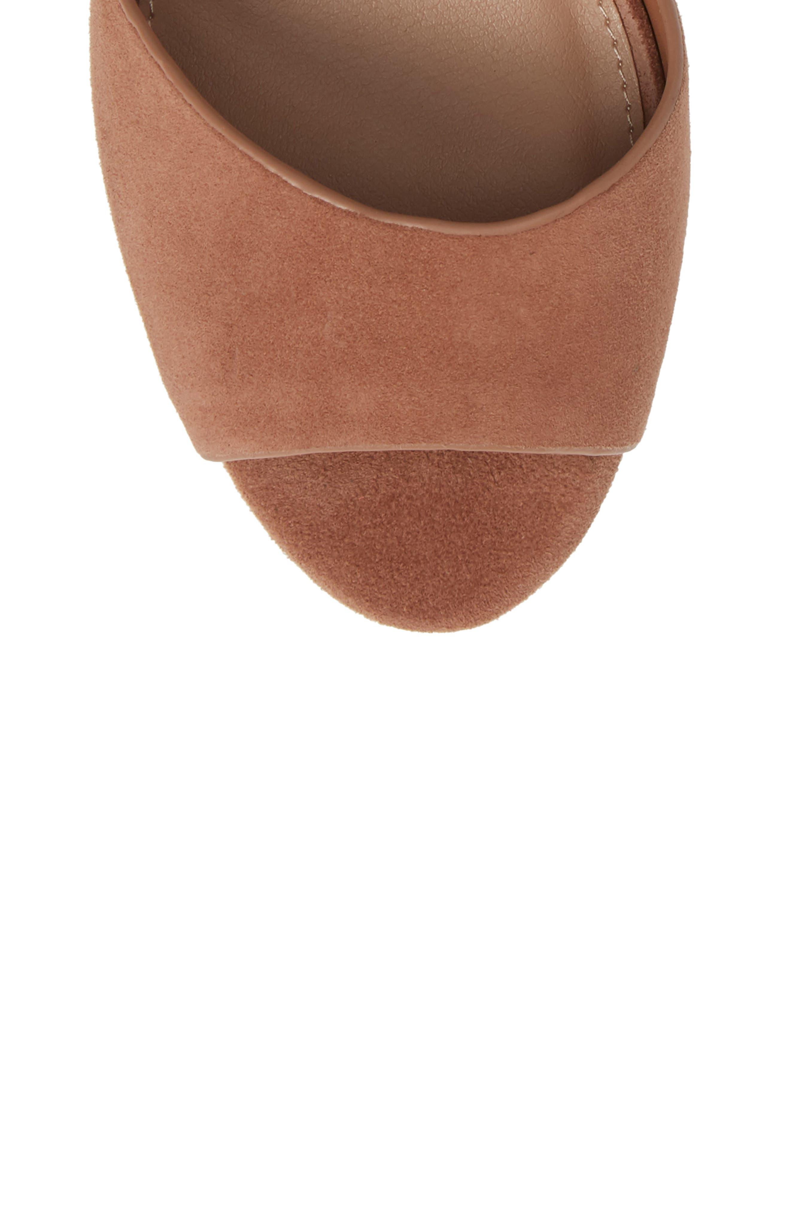 STEVE MADDEN,                             Jes Platform Sandal,                             Alternate thumbnail 5, color,                             230