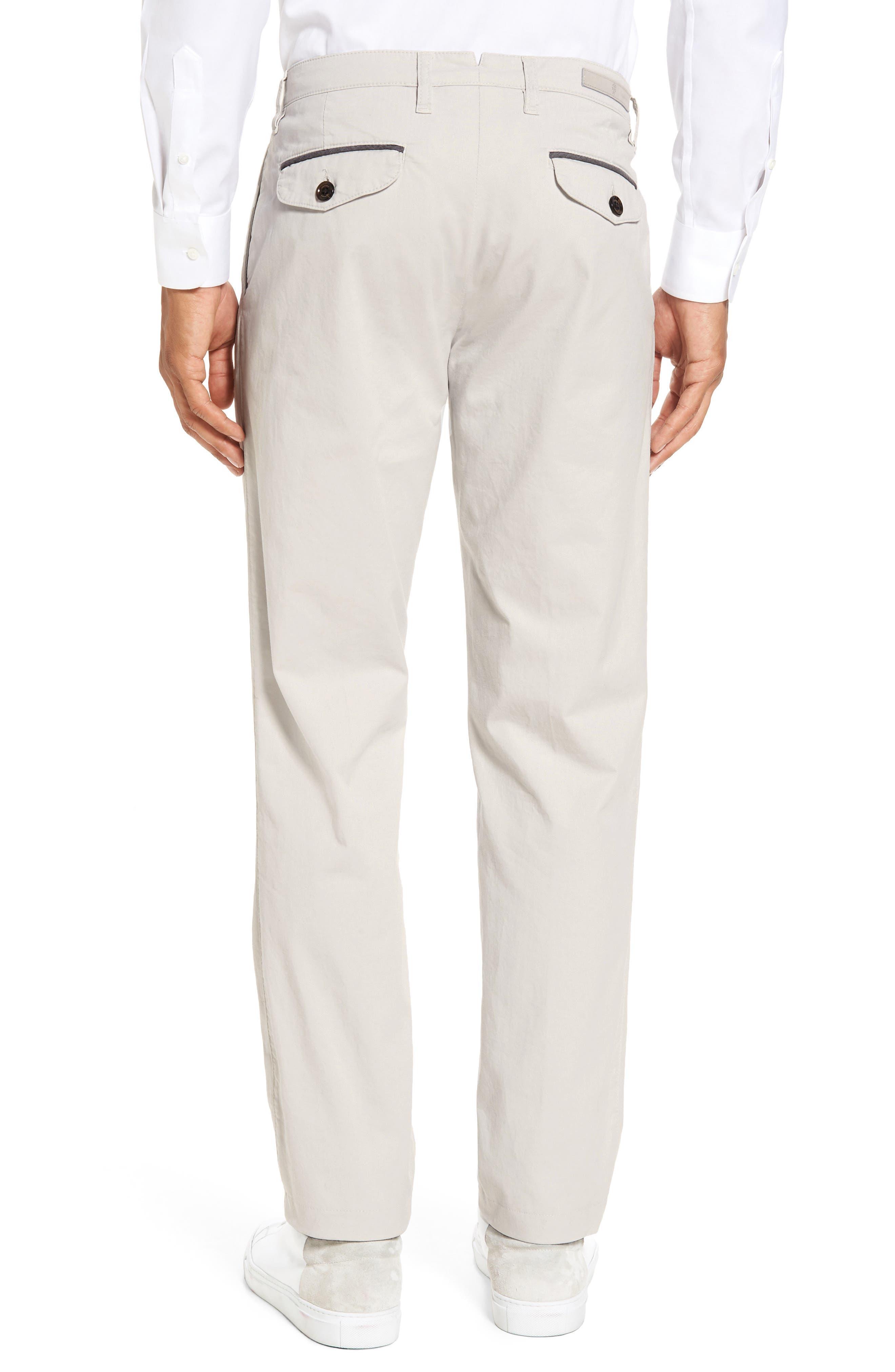 Slim Fit Chino Pants,                             Alternate thumbnail 2, color,                             SAND